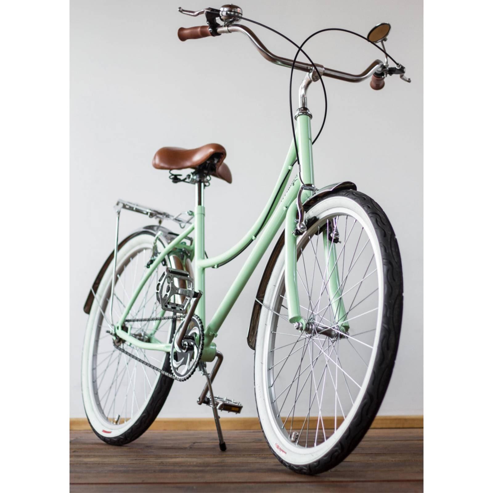 Bici Inglesa36 Rodada 26 Rines Acero Asiento Vinil 144 Rayos Bikes