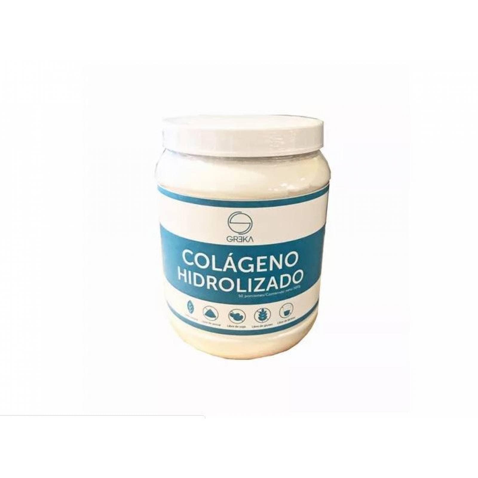 Colágeno Hidrolizado puro sumplemento polvo Greka 500g