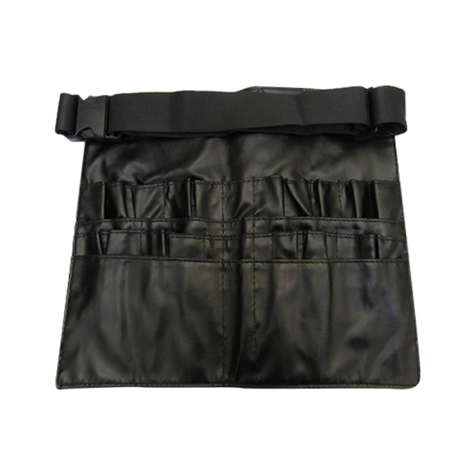 Cangurera negro brochas maquillaje cinta ajustable Nefertary Negro