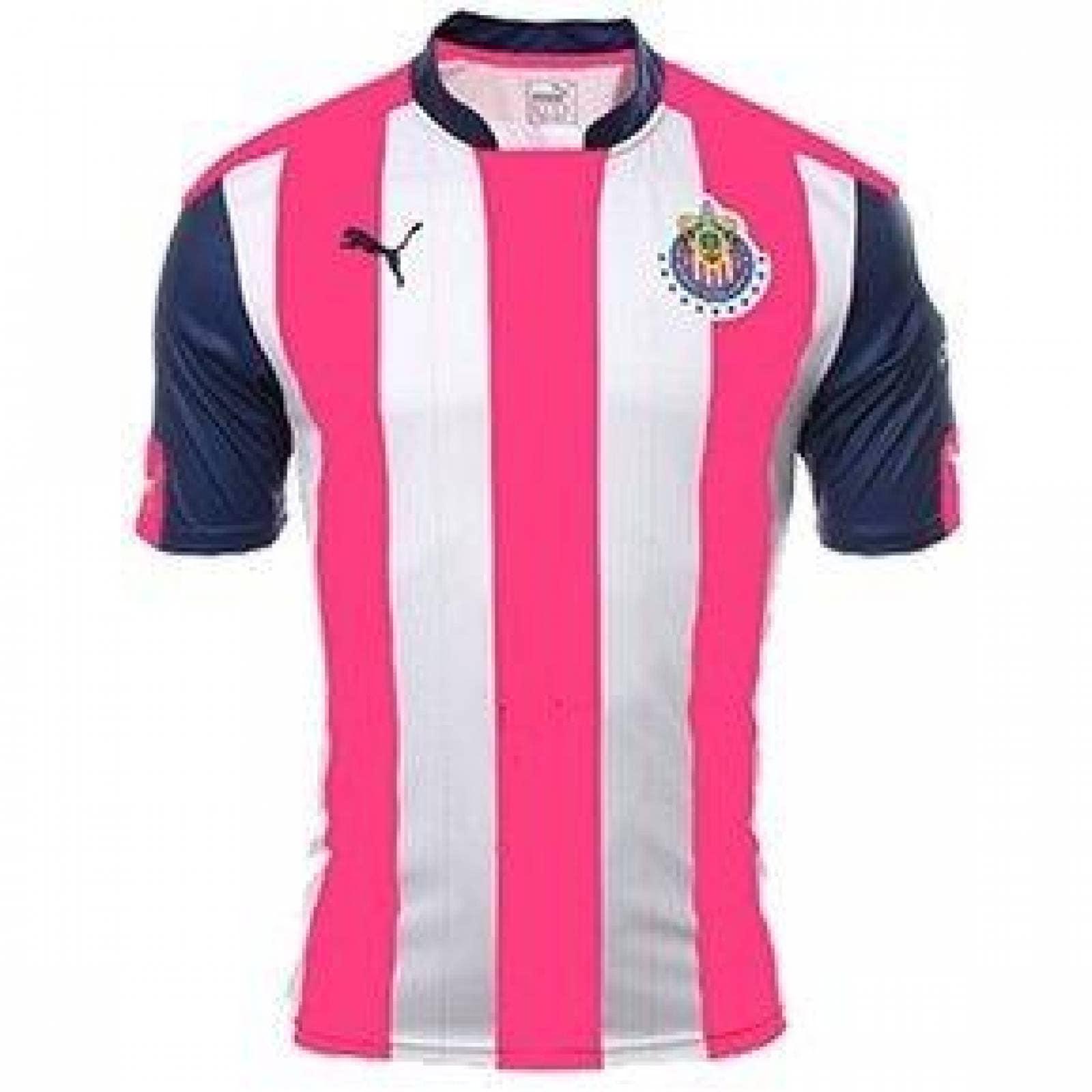 new arrivals 0dc8d 73561 Jersey chivas pink 17/18 - hombre - adulto