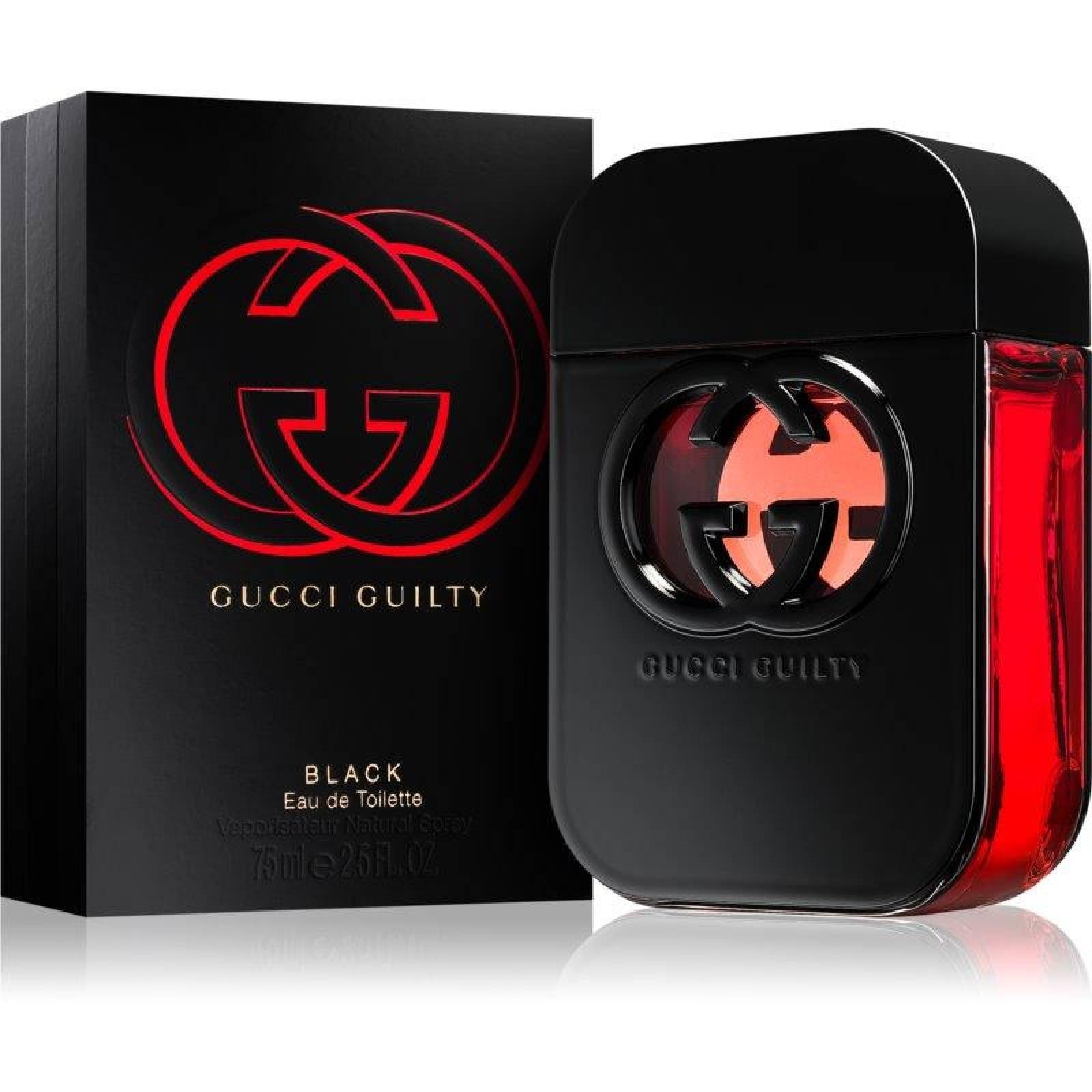 Guilty Black de Gucci Dama de 75 ml