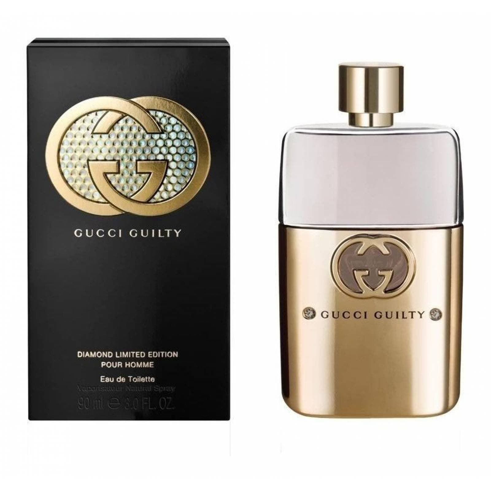 Guilty Diamond Limited Edition de Gucci Caballero de 90 ml