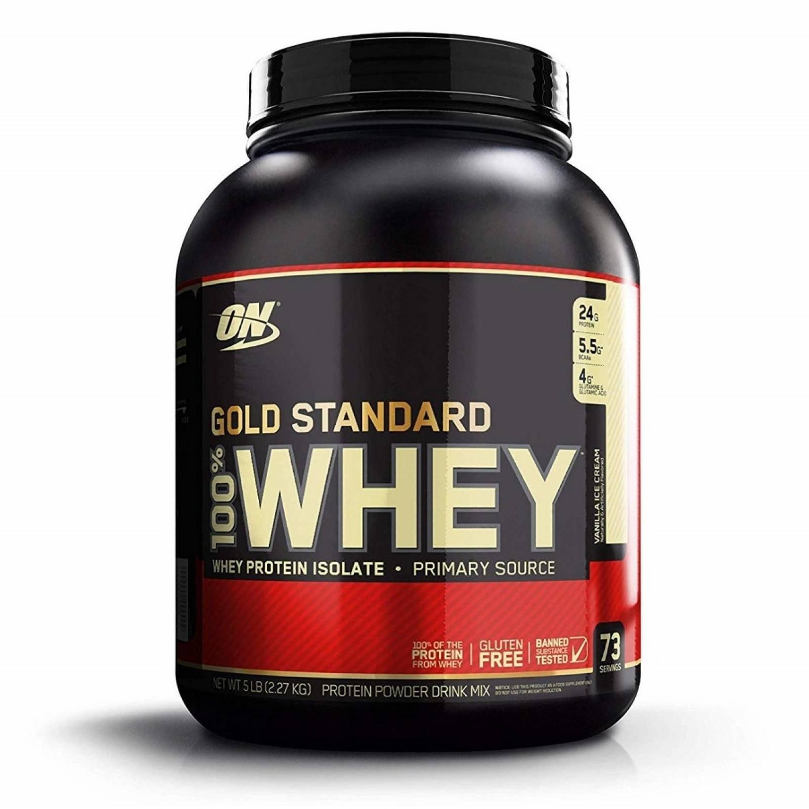 Proteína Optimum Nutrition Gold Standard 100% Whey 5 lbs