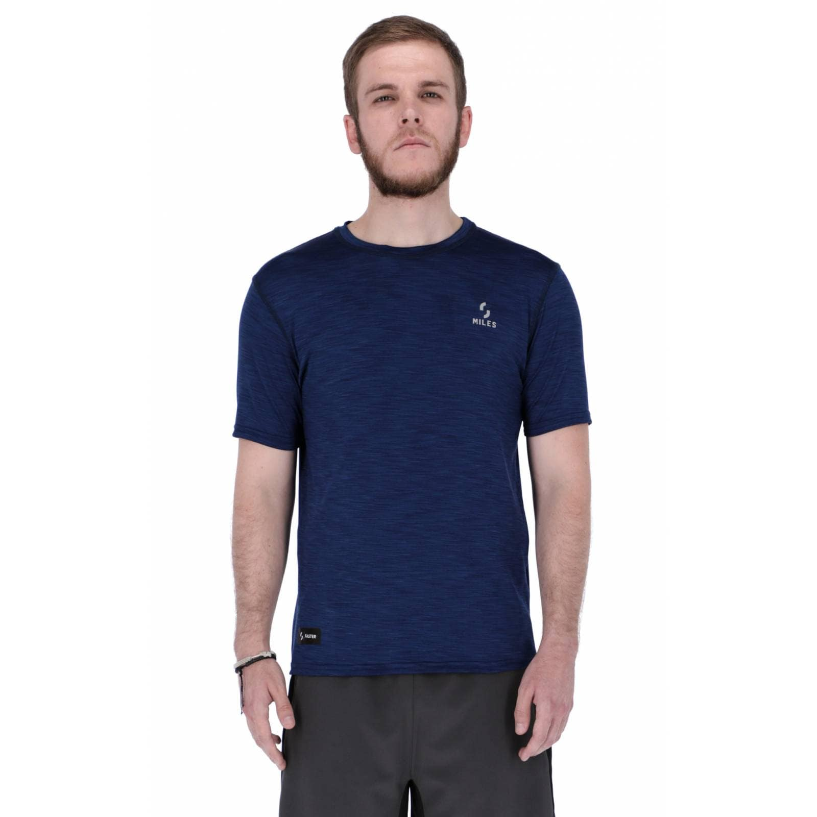 Playera Deportiva Miles Sportswear Rising - Azul