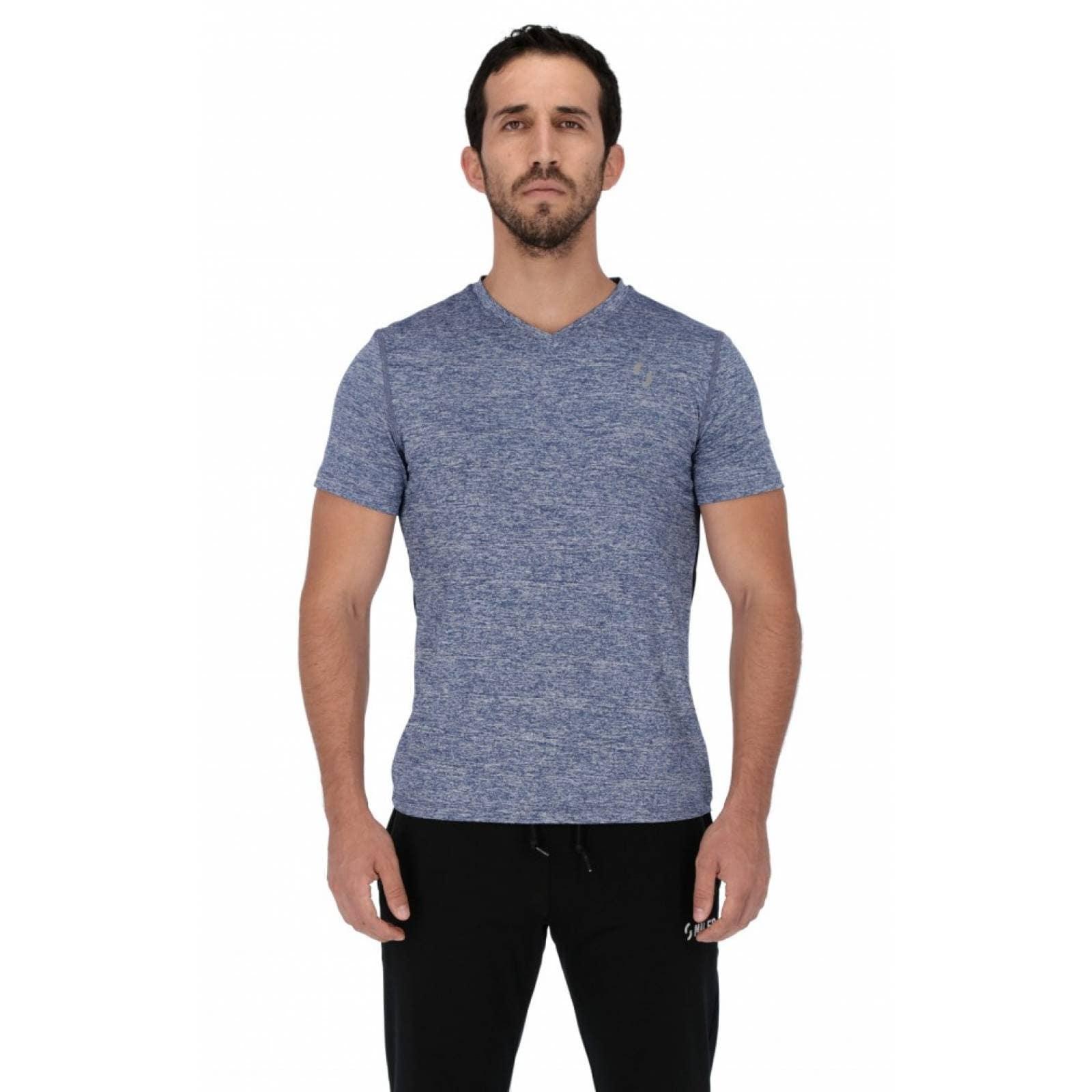Playera Deportiva Miles Sportswear Trainer - Azul