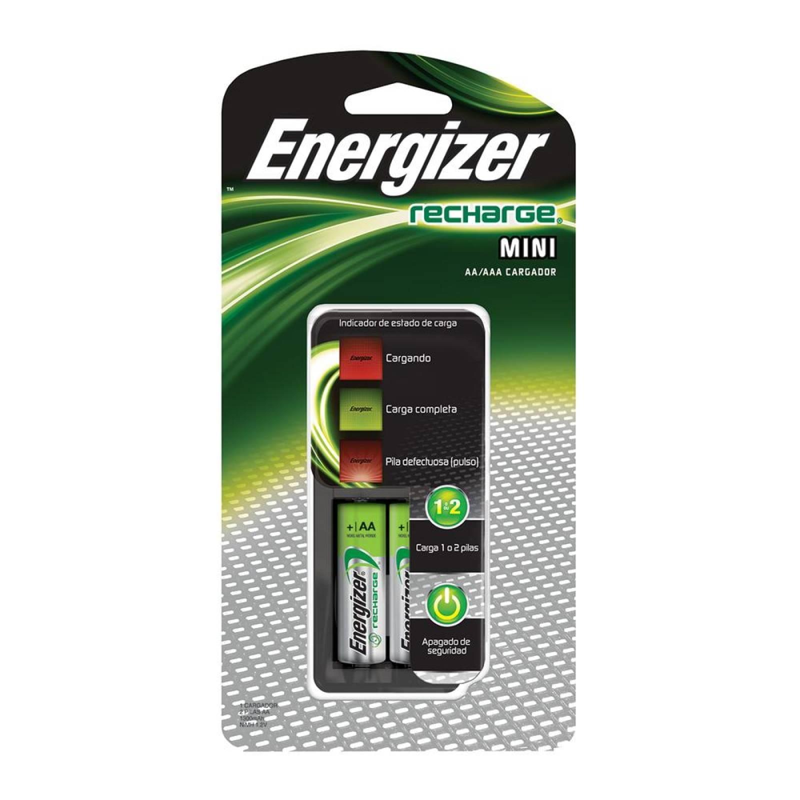 CARGADOR ENERGIZER MINI AAAAA C2 PILAS AA 2300MAH CH2PC4