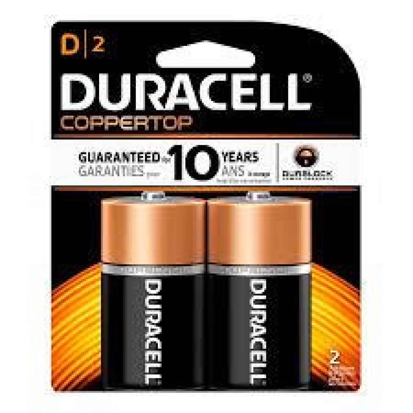 Pila Duracell Alcalina D C2 15V Mn1300B2