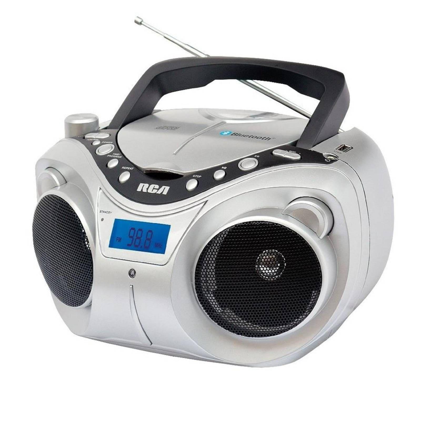 RADIOGRABADORA RCA RCD55BT BLUETOOTH CD MP3 USB FM AUX