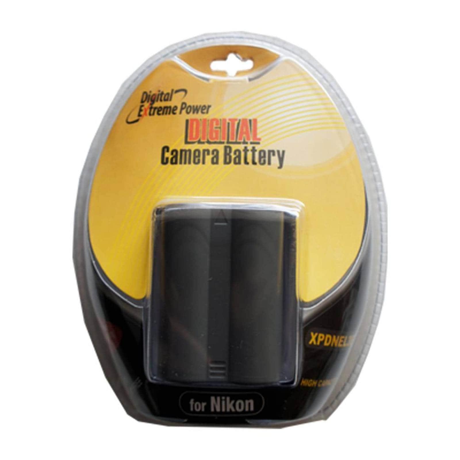Pila Bower Recargable PCamara Nikon 72V 2800Mah El3E