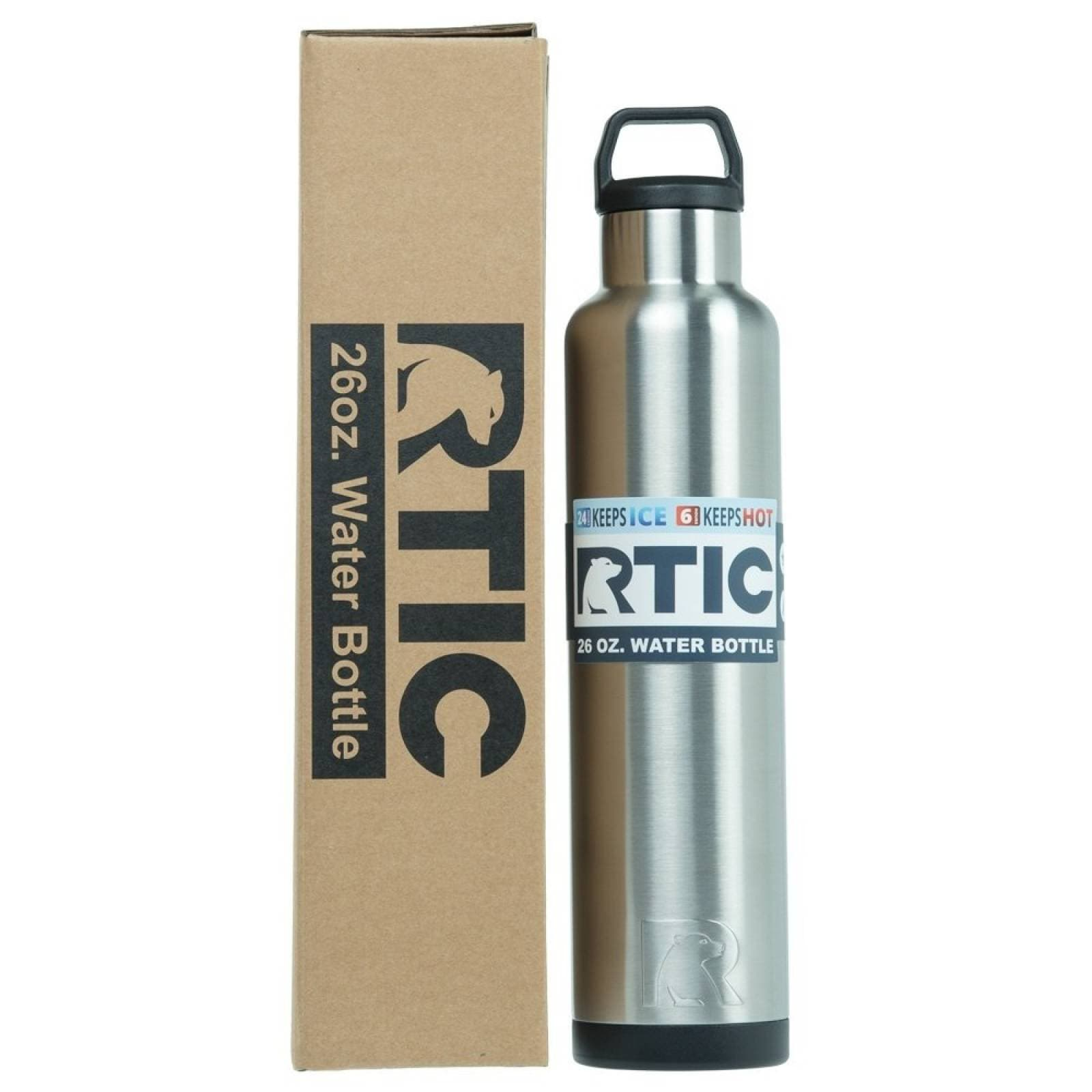 RTIC Water Bottle 26 oz. Stainless   915