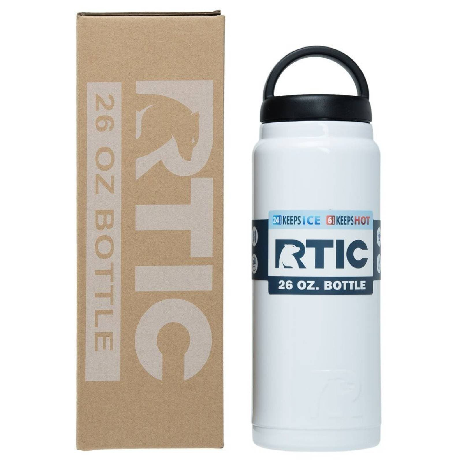 RTIC Bottle 26 oz. White   591