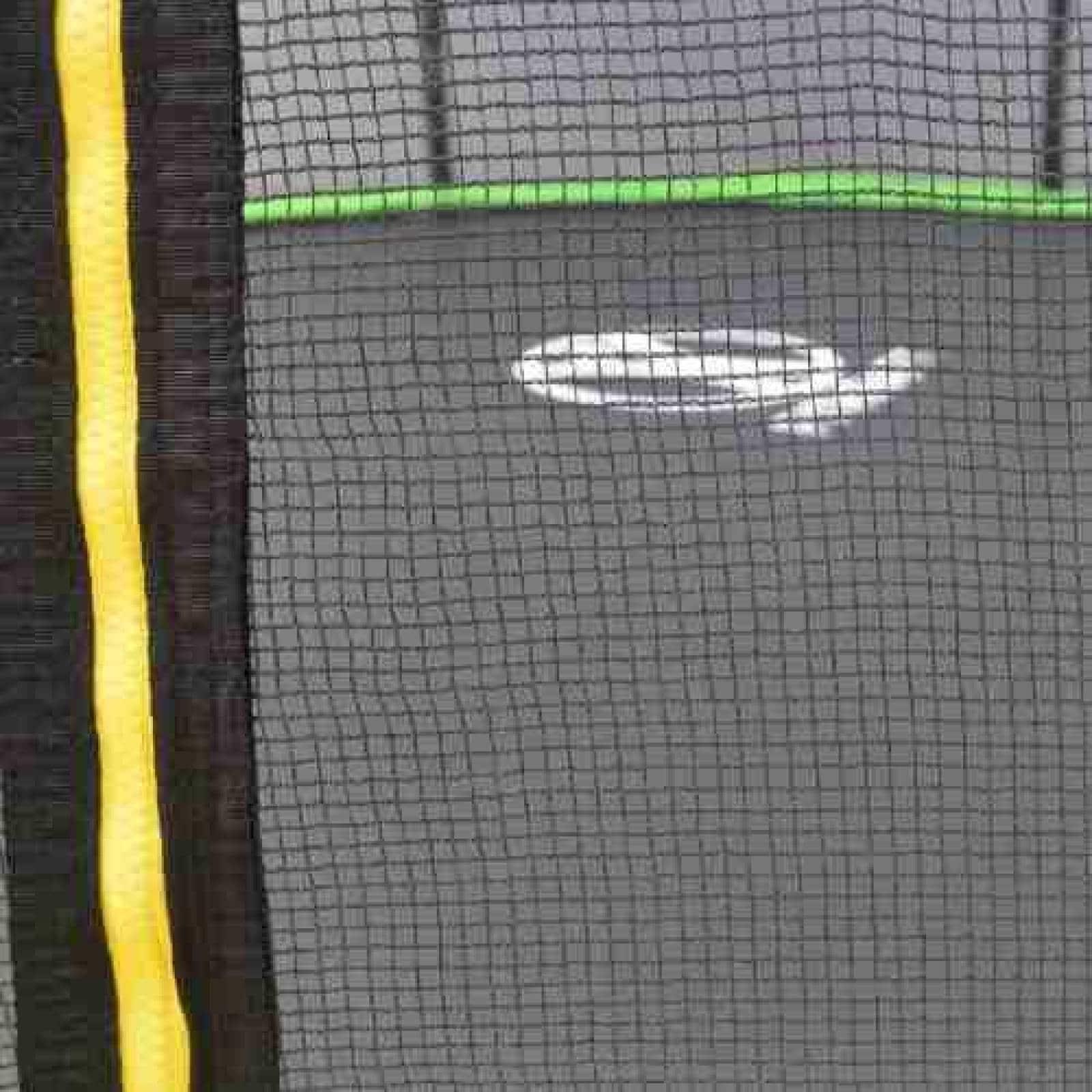 Trampolín Brincolín 12 Pies 365m Diámetro(CL) Verde