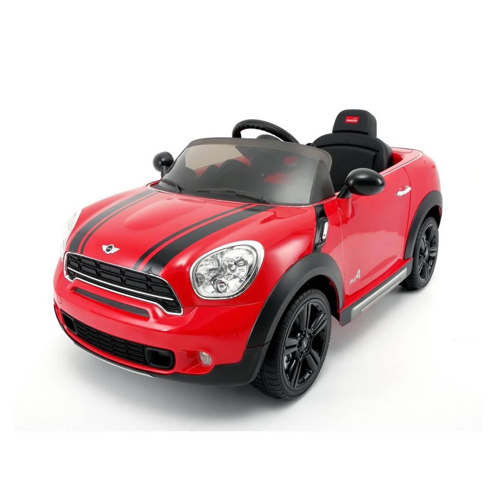Montable electrico Rastar Mini Cooper Countryman (CL) Rojo