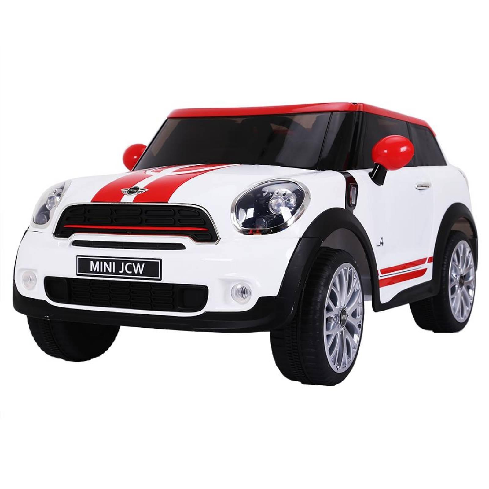 Carro montable electrico Mini Cooper Paceman (CL) Blanco