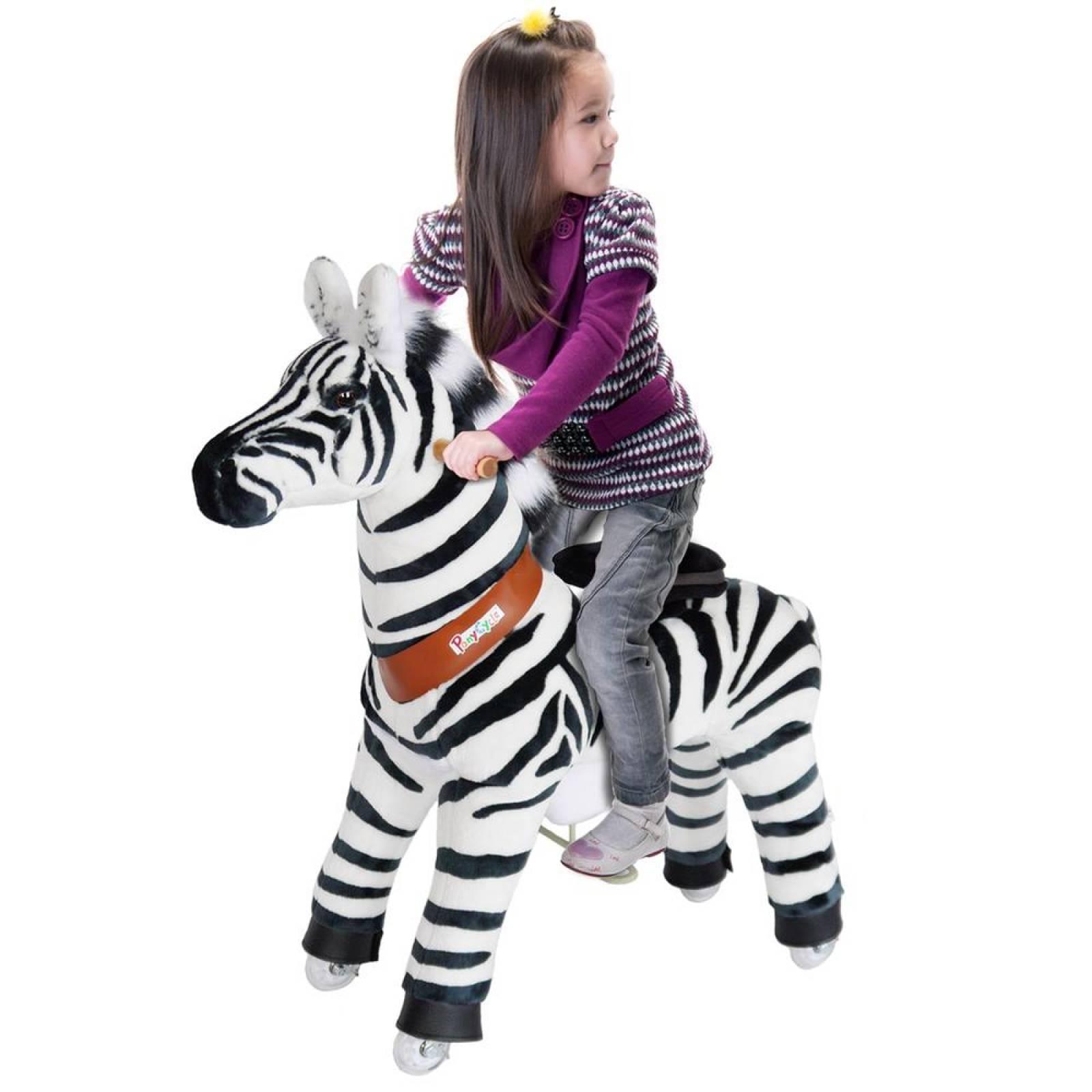 Cebra Montable Pony Cycle Con Ruedas Para Niños Edad 4 A 9(CL)