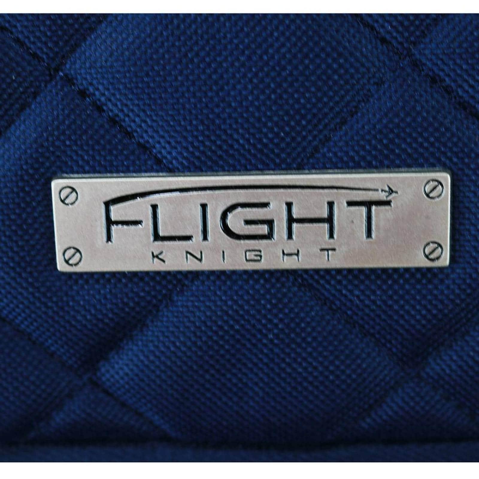 Maleta de mano de 16 Plgadas Flight Knight 2 ruedas (CL) Azul