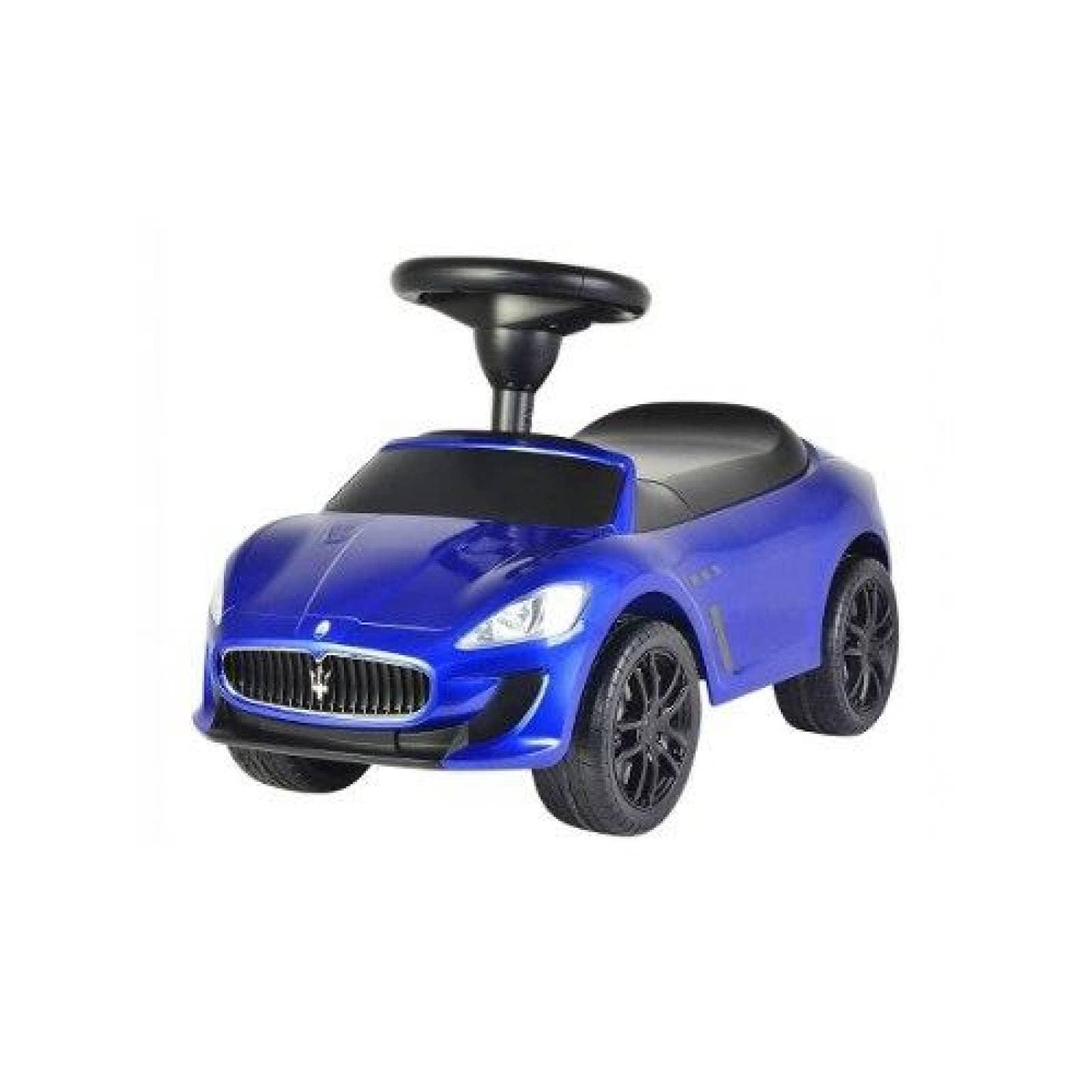 Carro Montable Eléctrico Maserati 4 En 1 Push Car