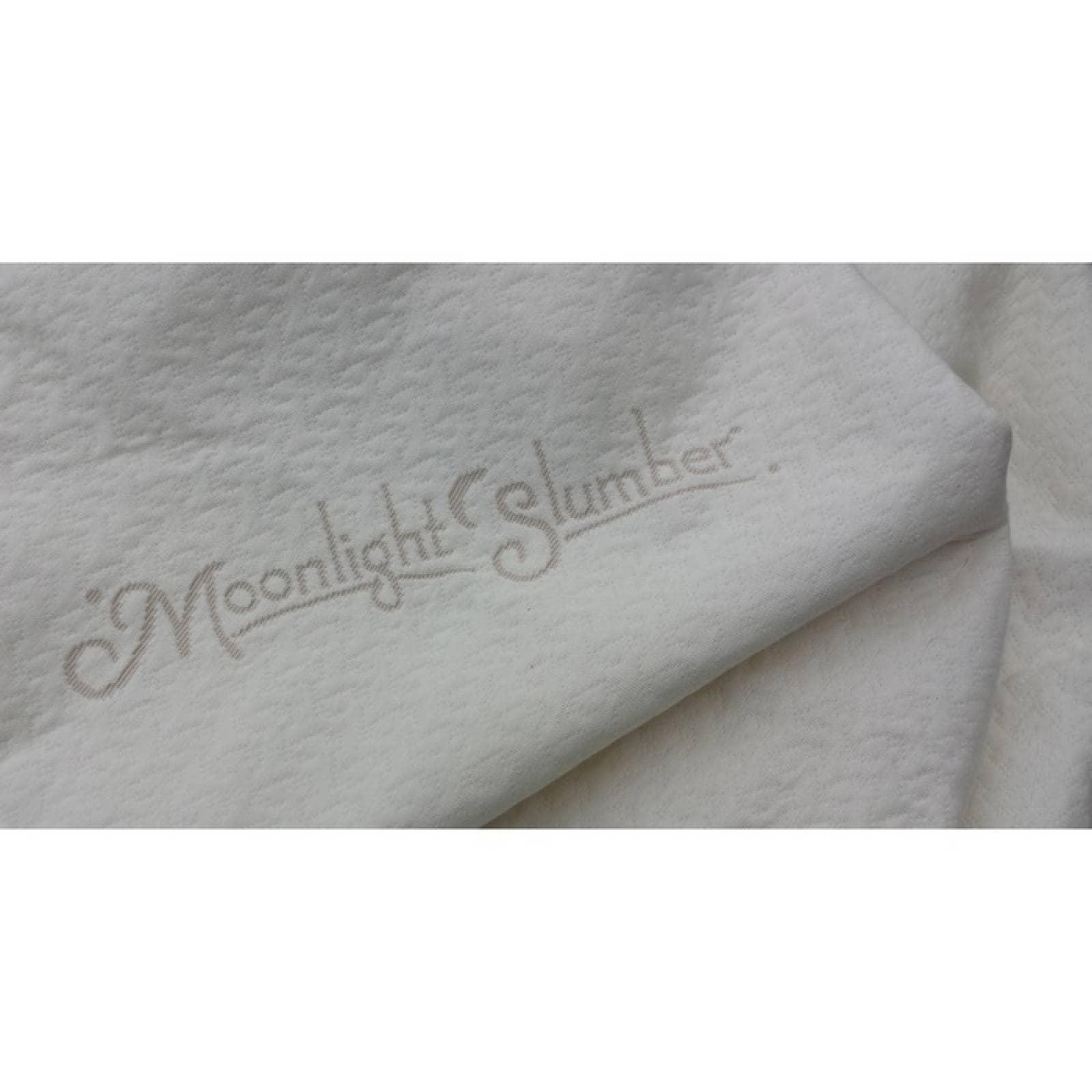 Moonlight Slumber Little Dreamer Naturals Cubierta de colchn de cuna de algodn orgnico (impermeable)