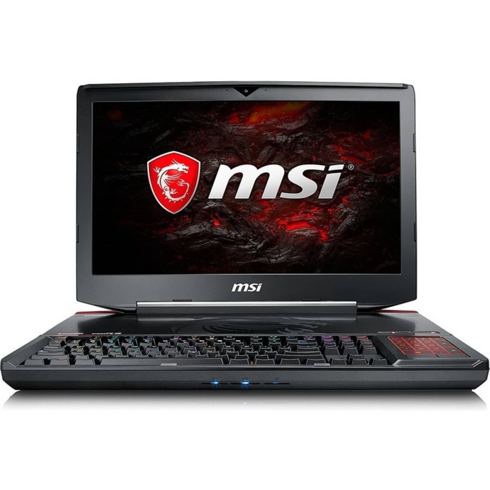 MSI GT83 Titan014 VR Ready Pantalla LCD para juegos de 184 quotcon pantalla LCD  Intel Core i7 (8a generacin) i78