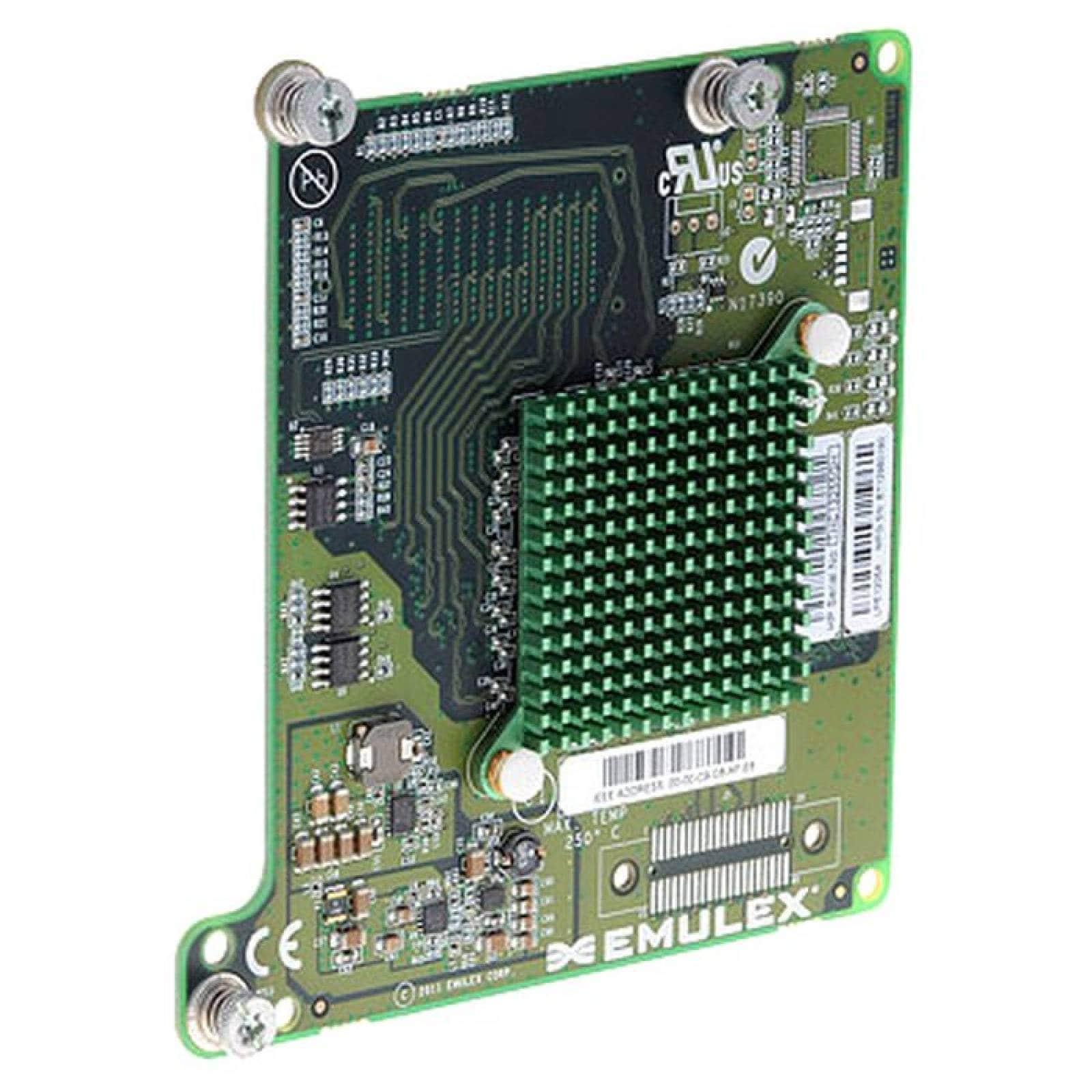HPE LPe1205A Adaptador de bus host mezzanine de canal dual de fibra de 8Gb