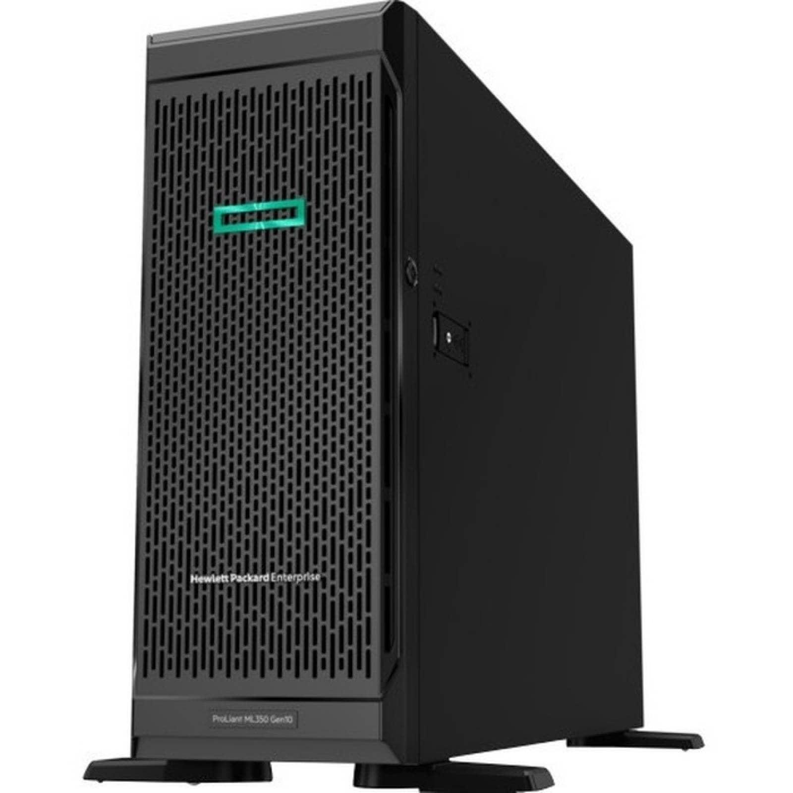 HPE ProLiant ML350 G10 4U Tower Server  1 x Intel Xeon Silver 4110 Octacore (8 Core) 210 GHz  16 GB SDRAM DDR4 insta