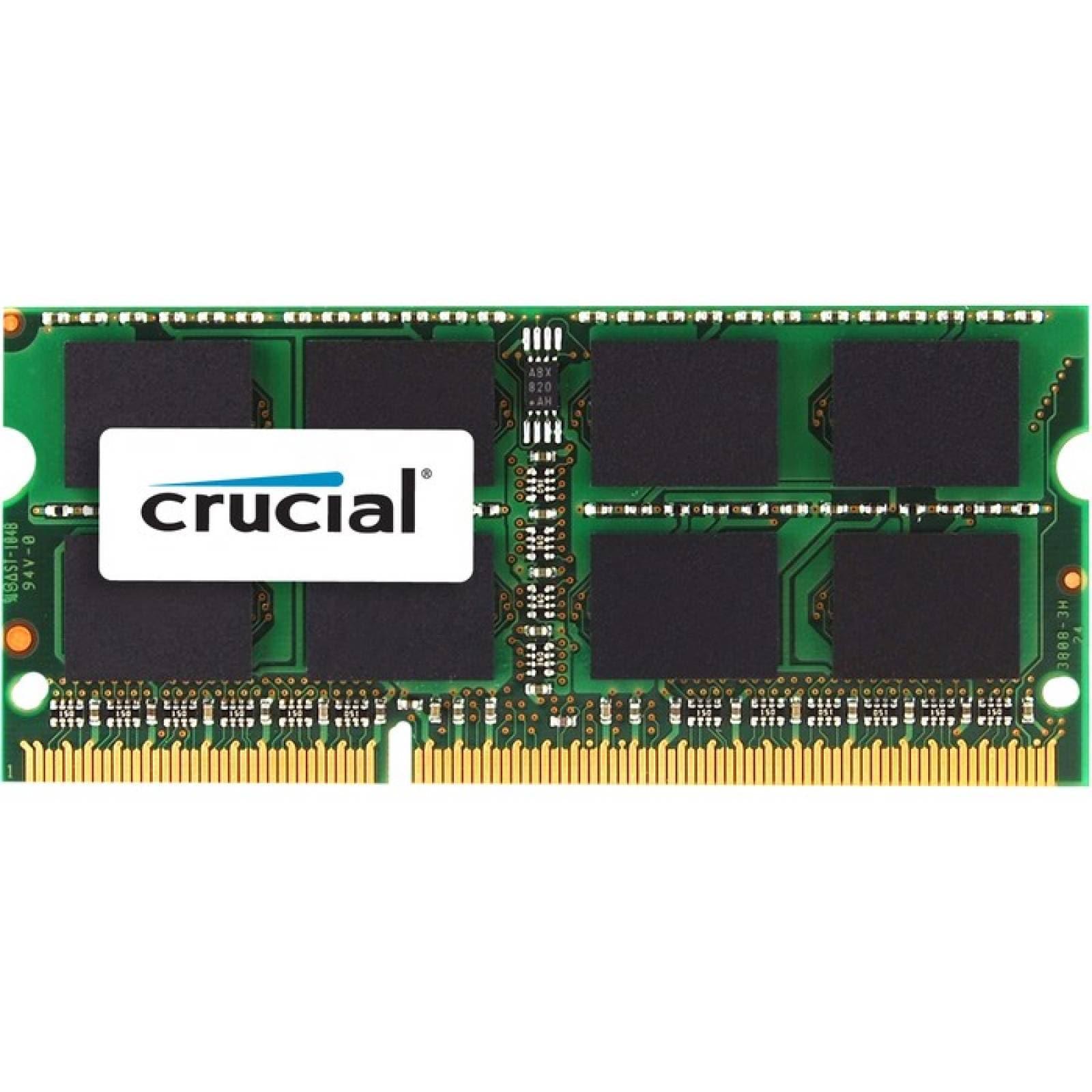 Mdulo de memoria SDRAM DDR3 de 8 GB (1 x 8 GB) crucial