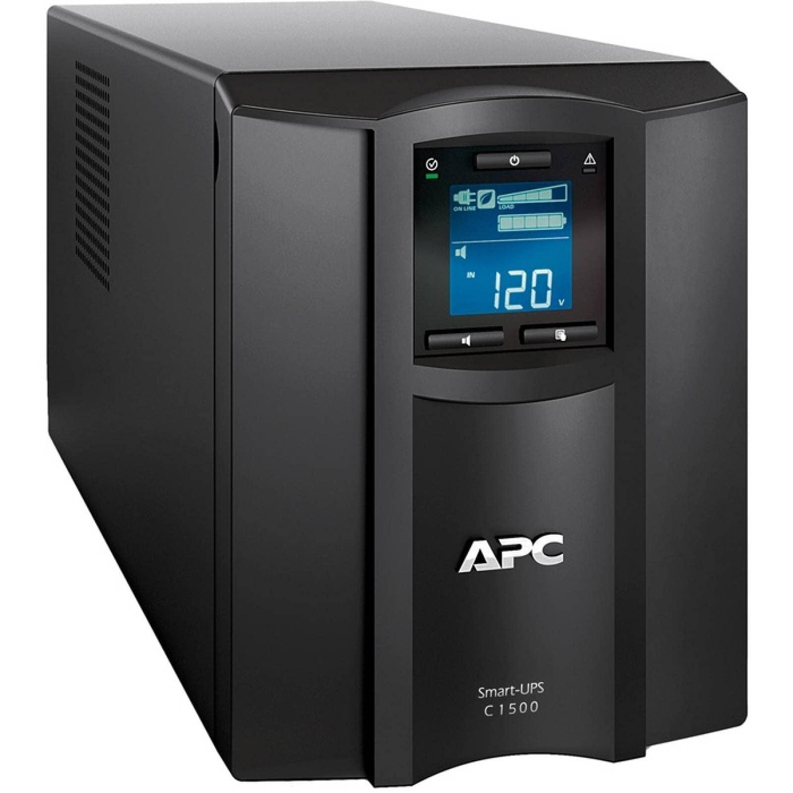 APC by Schneider Electric SmartUPS SMC1500C 1500VA UPS de escritorio