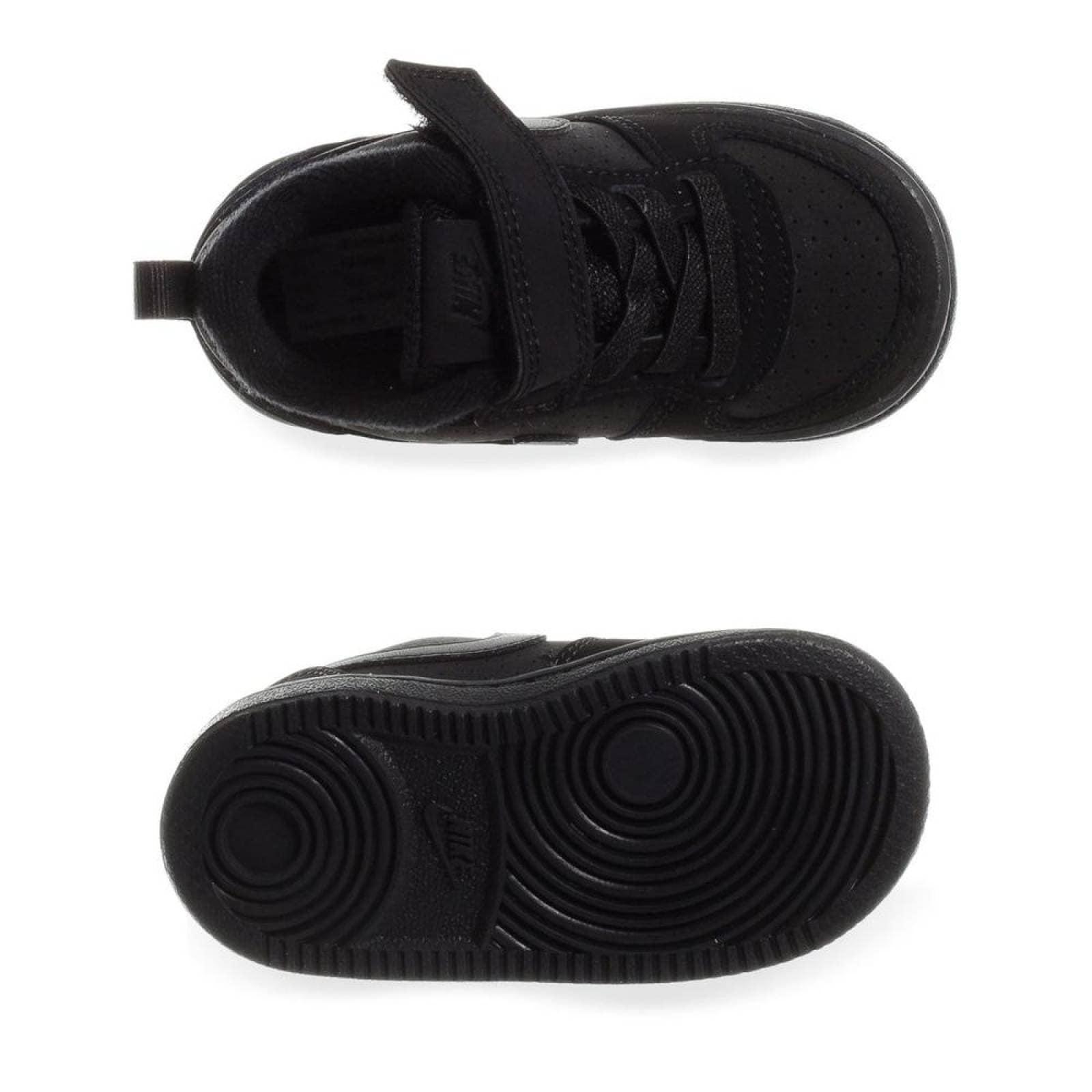 Tenis Nike Court Borough Low 870029001 Negro Bebes