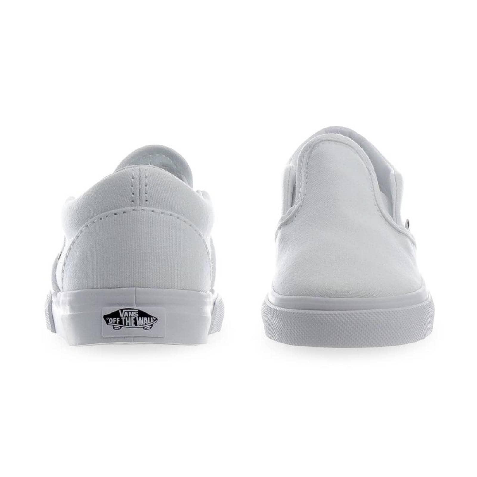Tenis Vans Classic Slip On TD - 0EX8W00 - Blanco - Bebes