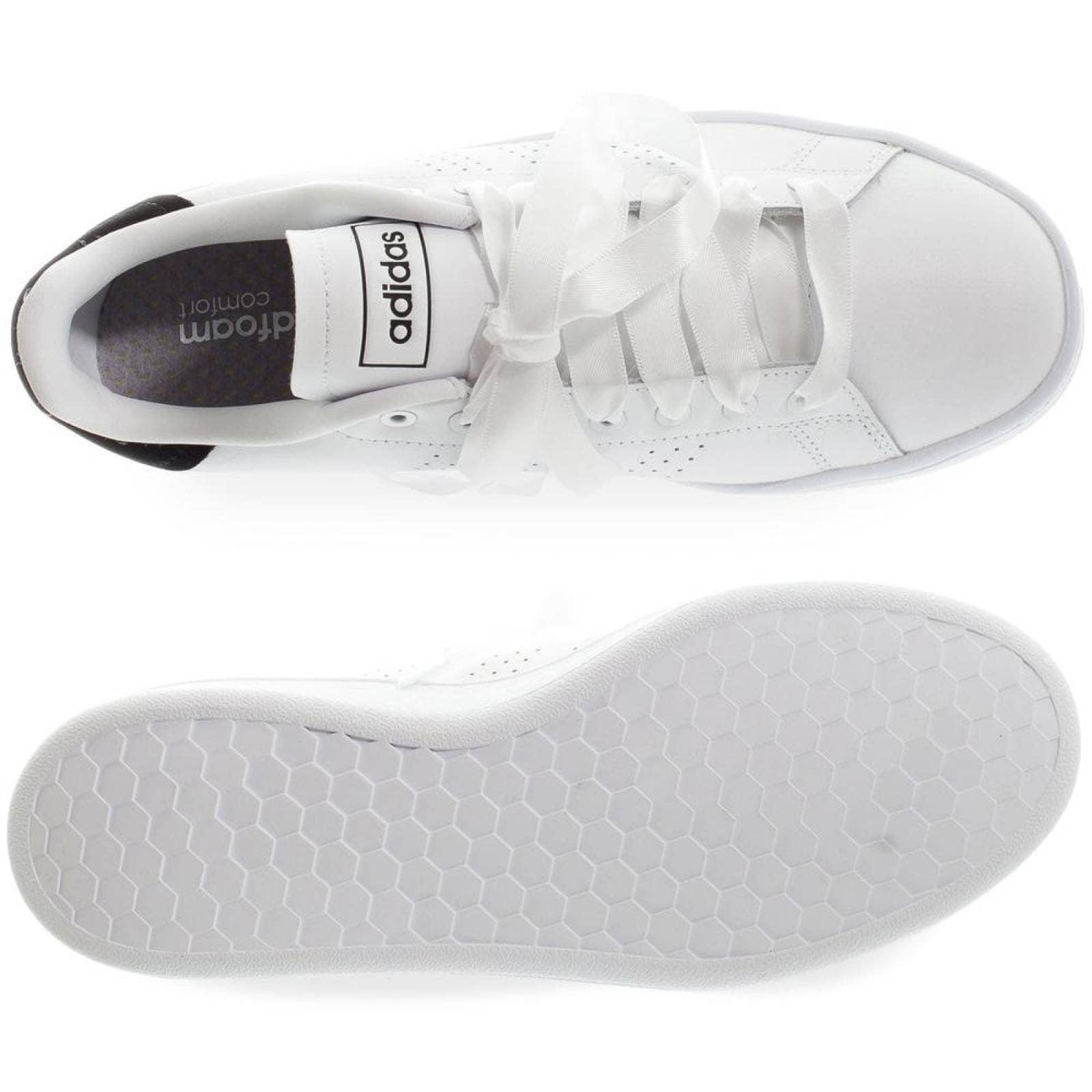 Tenis Adidas Advantage Bold EF1034 Blanco Mujer