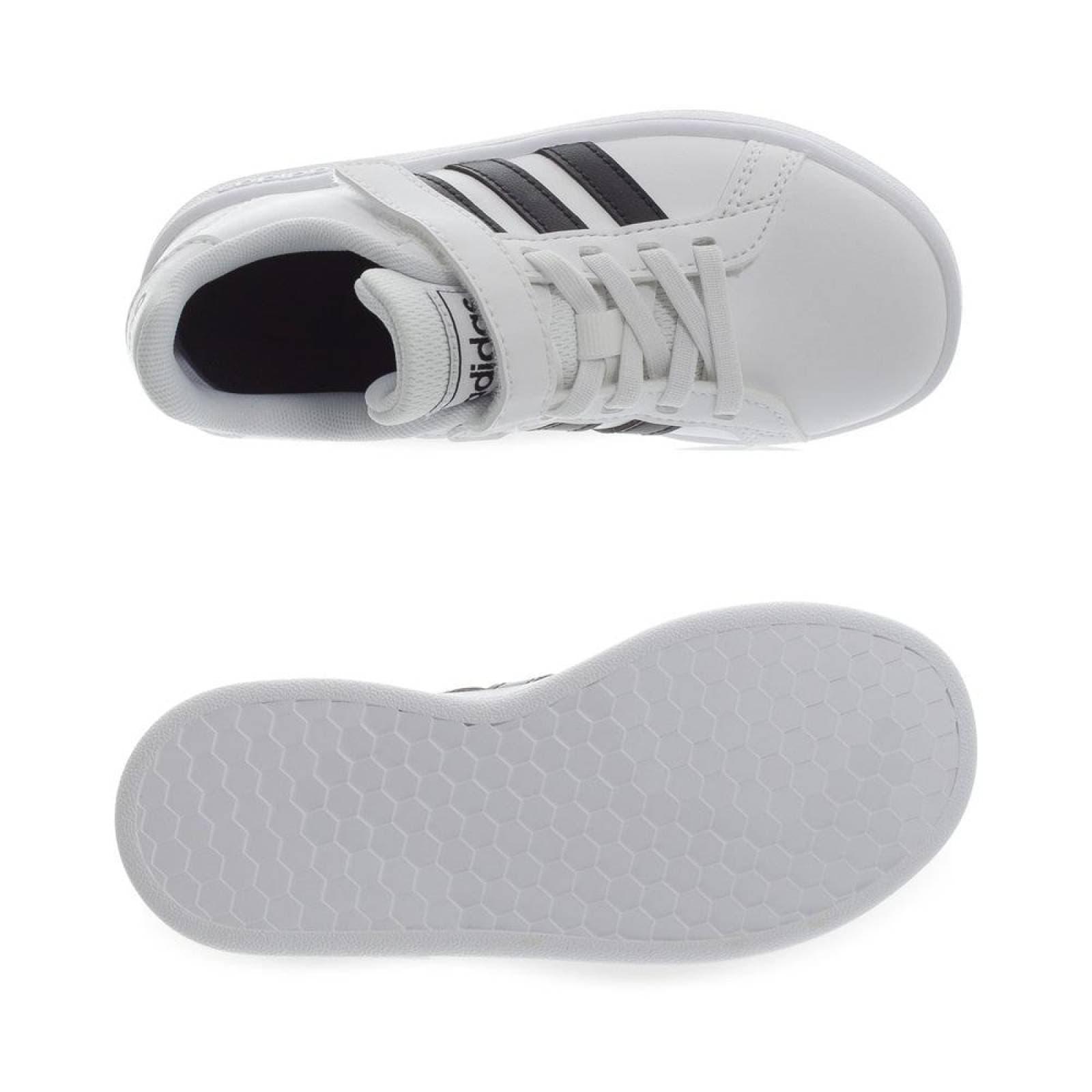 Tenis Adidas Grand Court C - EF0109 - Blanco - Niños