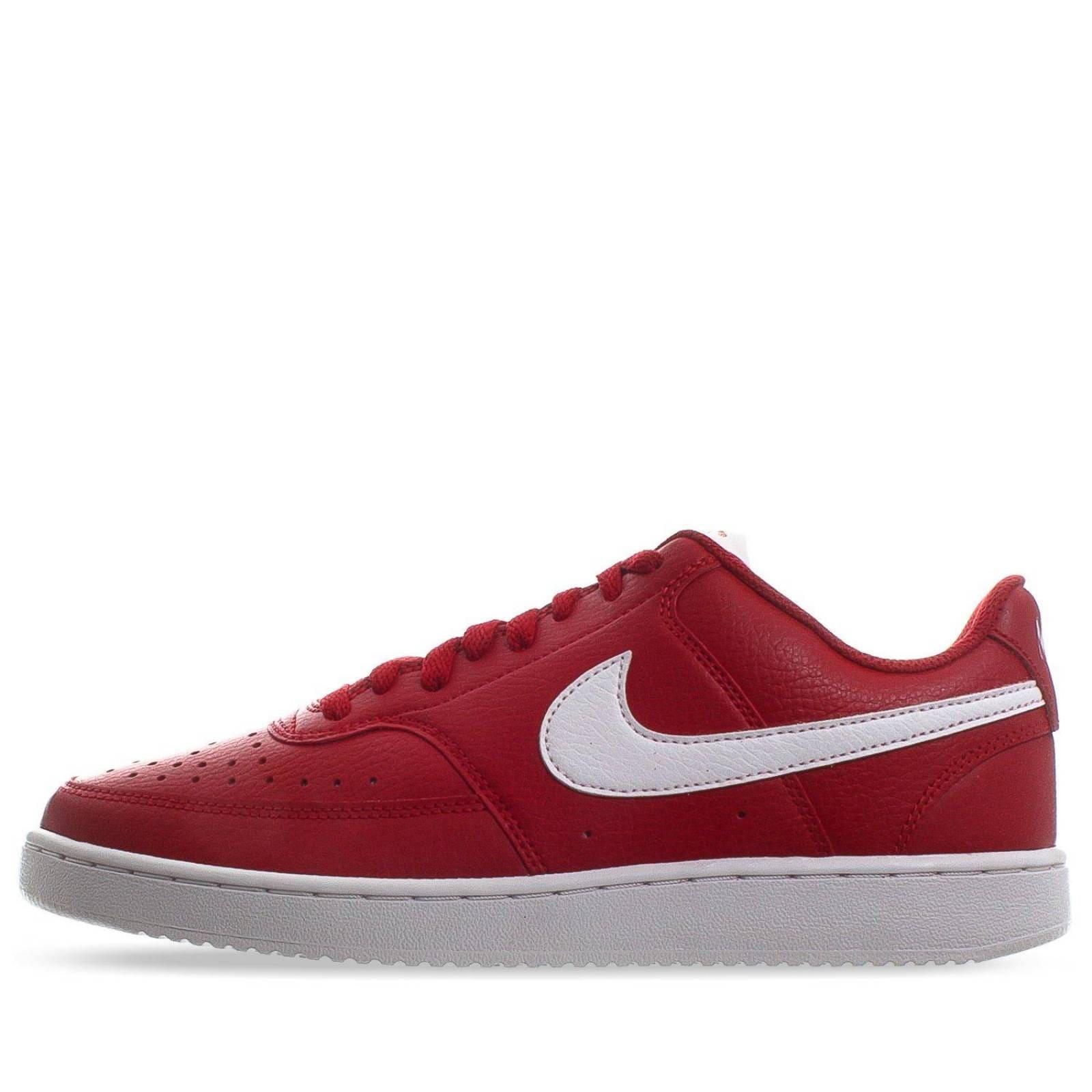 Tenis Nike Court Vision Low - CD5463600 - Rojo - Hombre