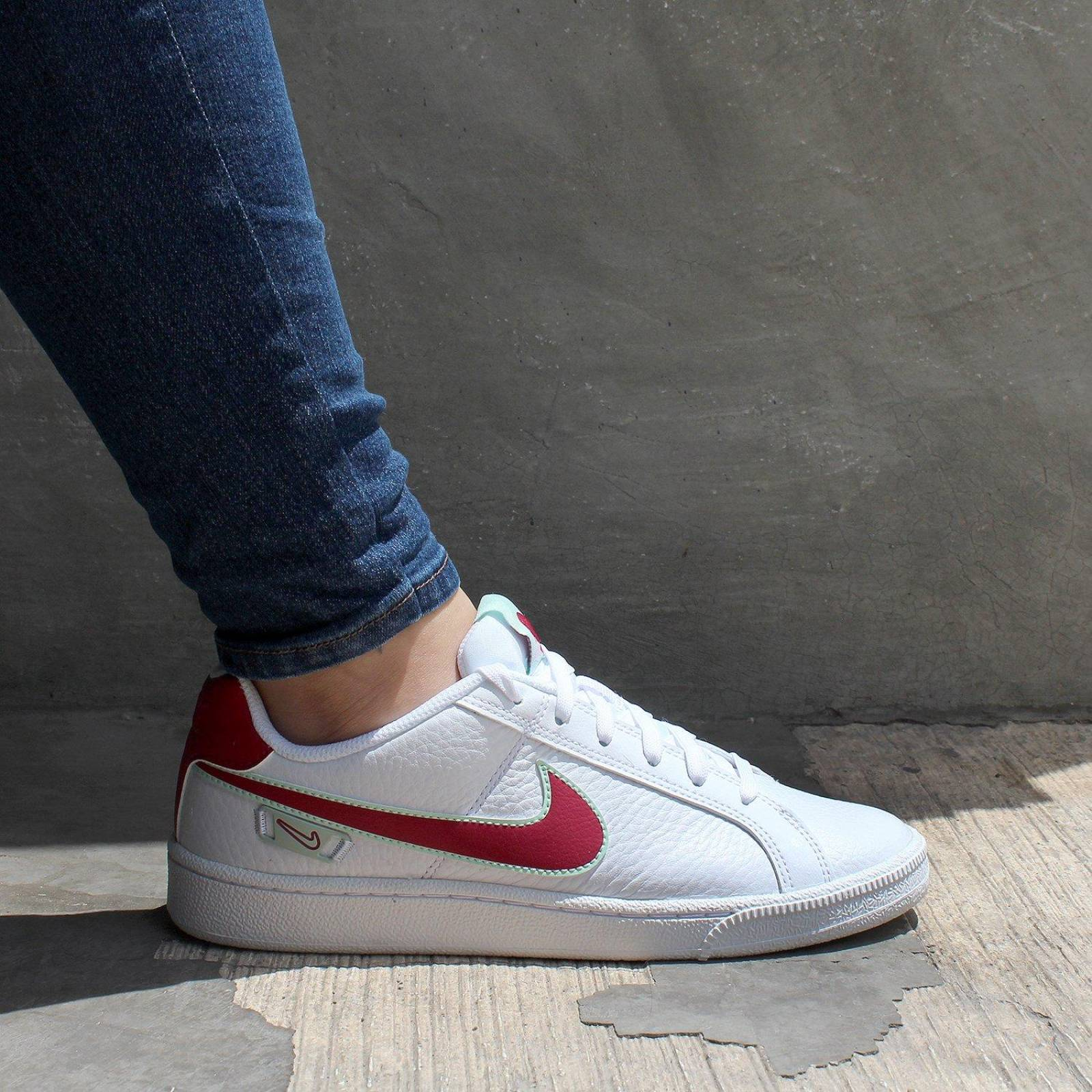 recinto Lamer embargo  Tenis Nike Court Royale Premium - CI7824100 - Blanco - Mujer