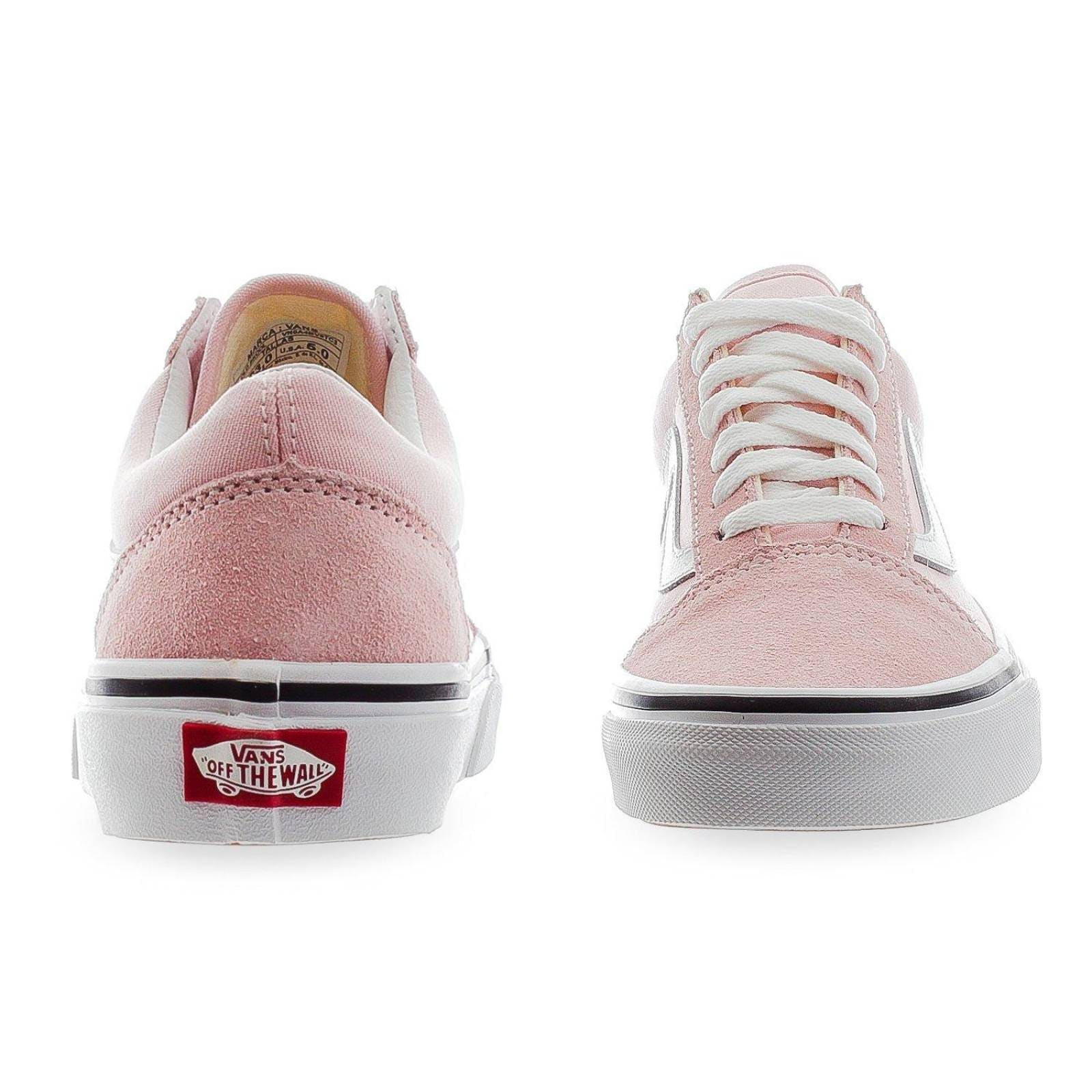 vans rosa pastel