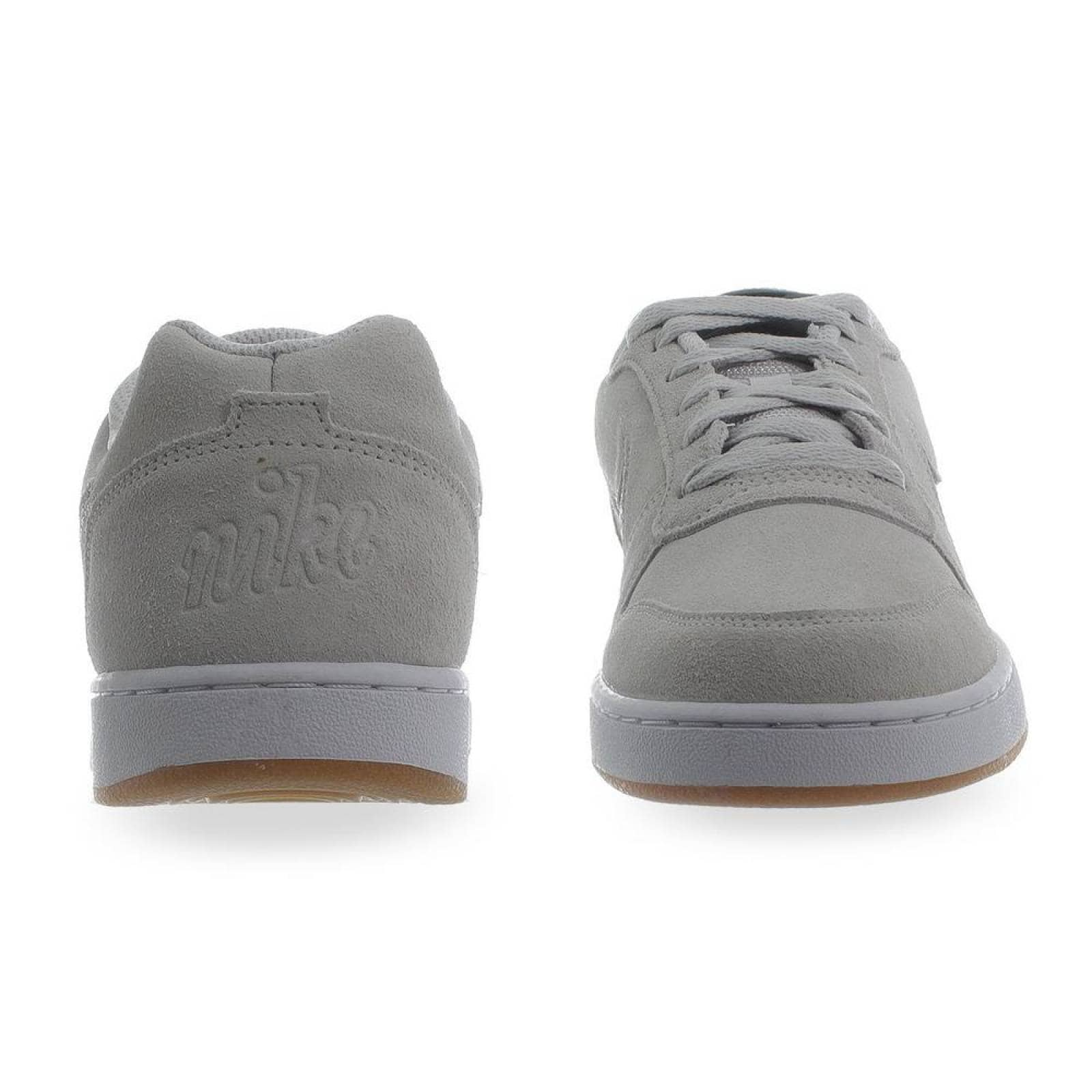 conjunción Yo Clavijas  Tenis Nike Ebernon Low Premium - AQ1774002 - Gris - Hombre