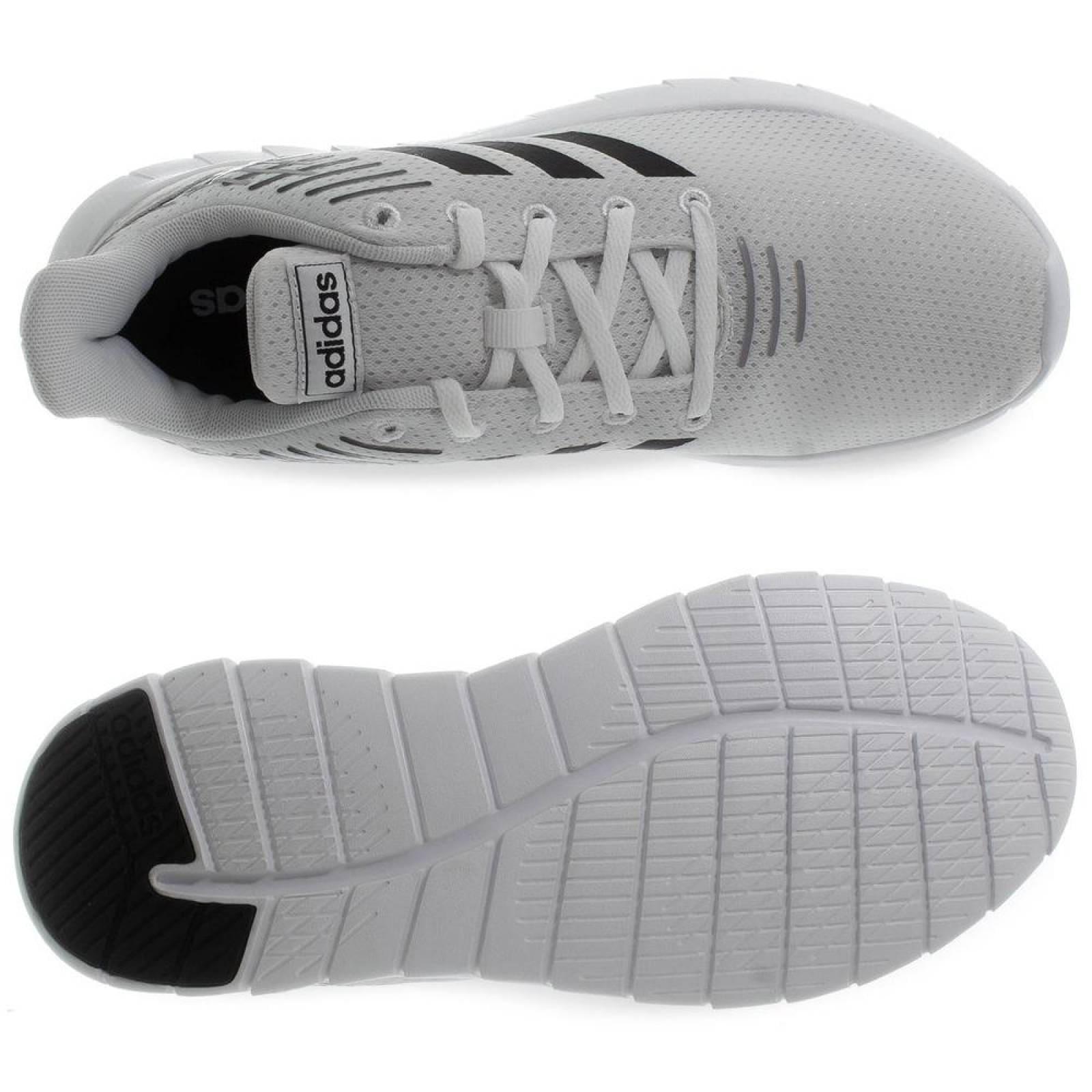 Tenis Adidas Asweerun F36332 Blanco Hombre