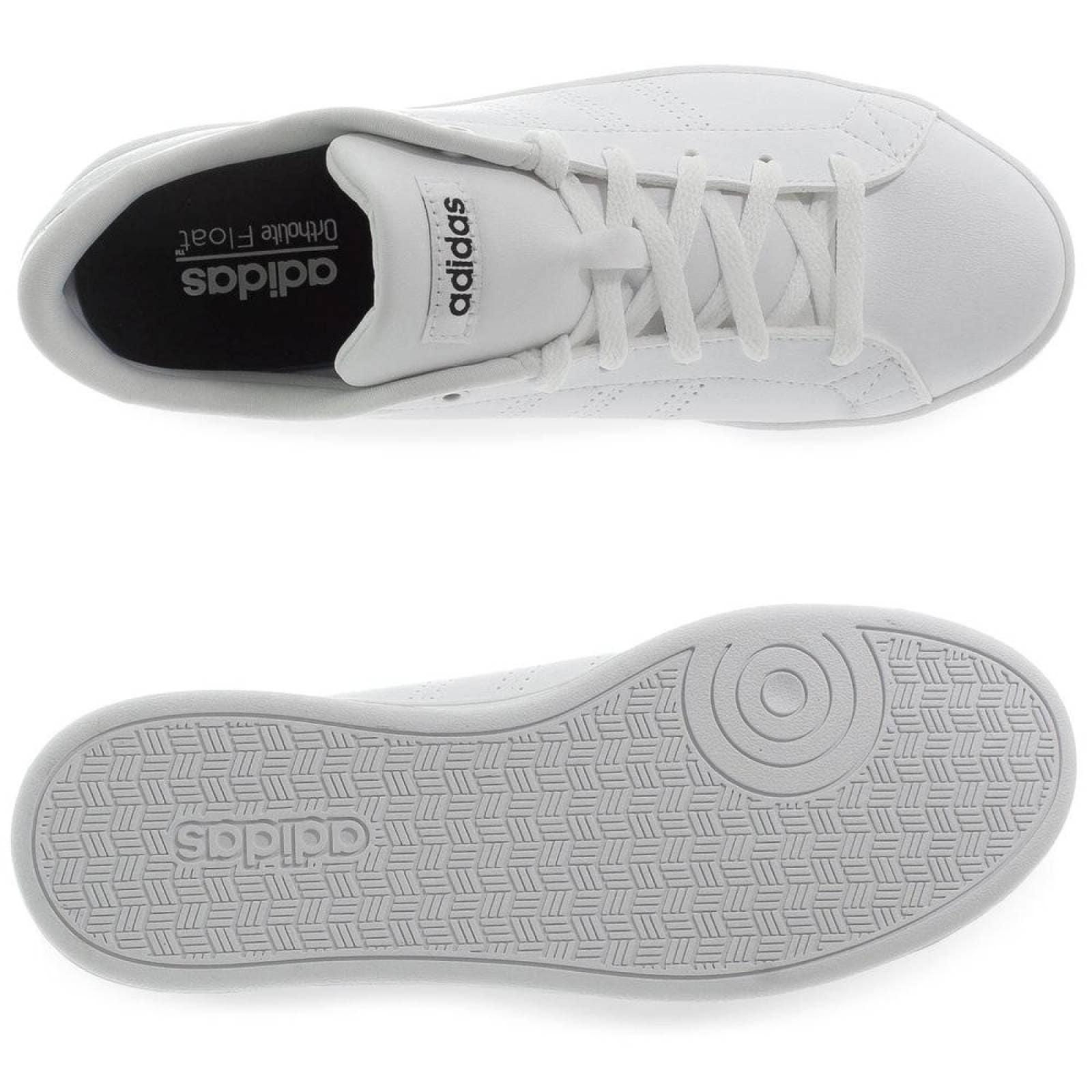 Zapatillas adidas Advantage Clean QT Blanco Rosa para mujer