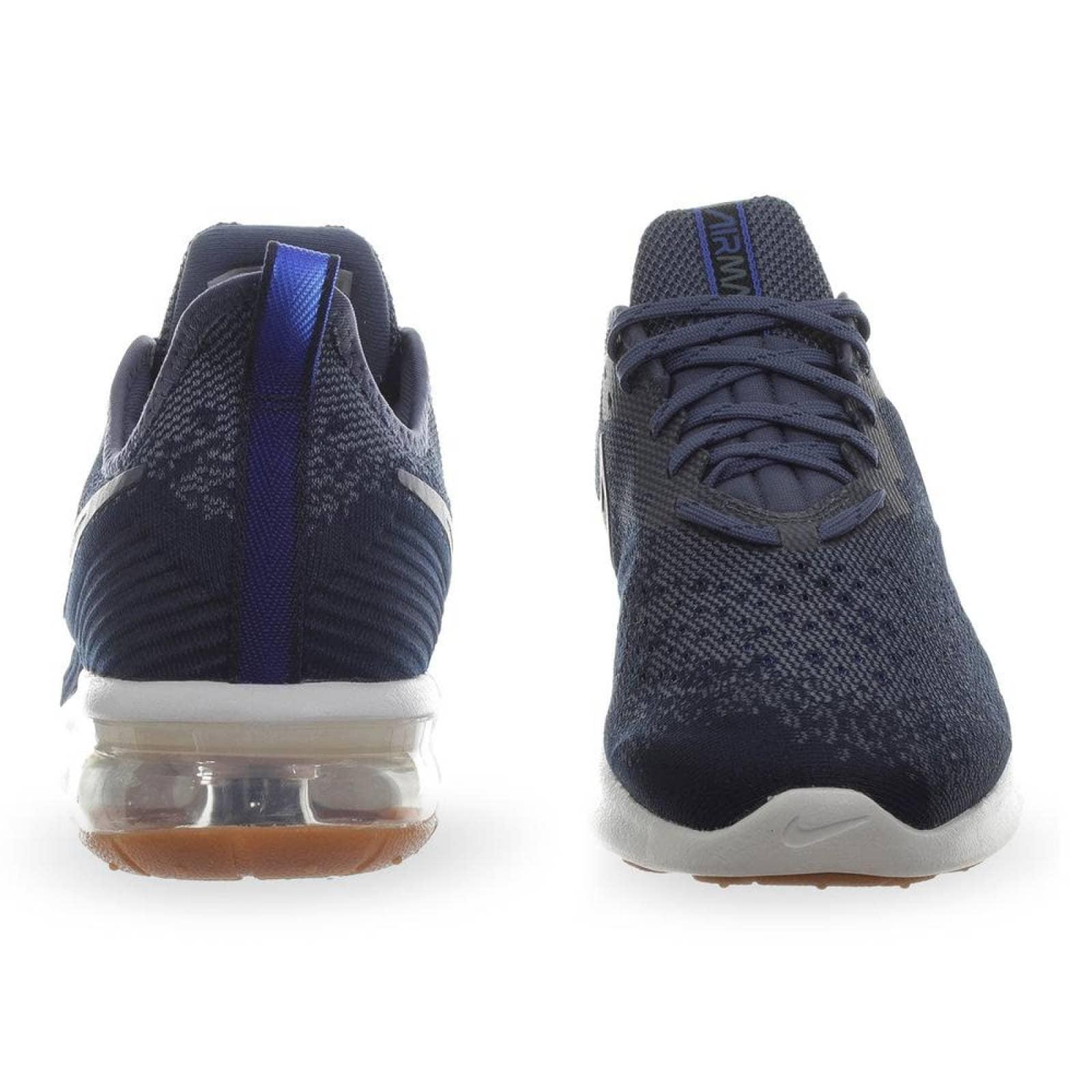 Tenis Nike Air Max Sequent 4 AO4485400 Azul Acero Hombre