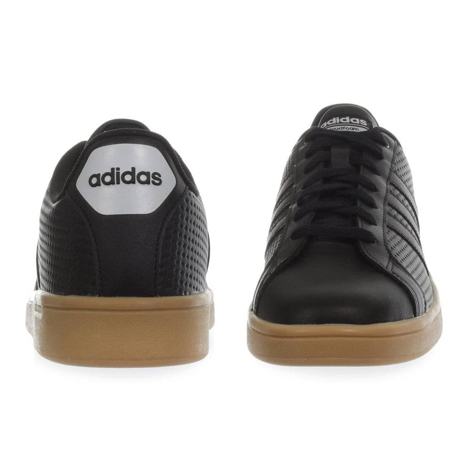 Tenis Adidas CF Advantage Clean B43668 Negro Hombre