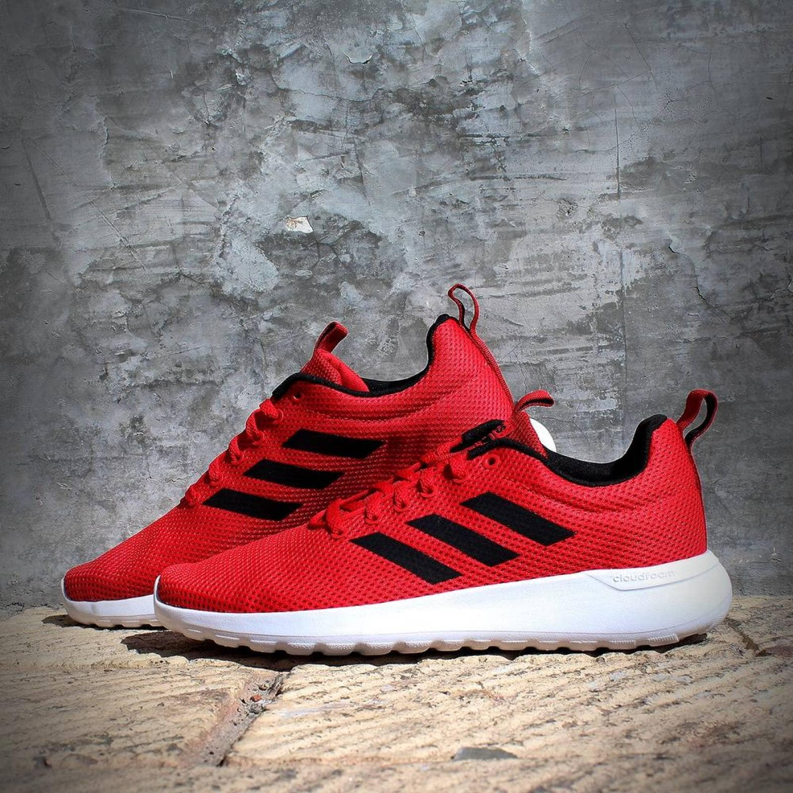 Tenis Adidas Lite Racer CLN B96573 Rojo Hombre