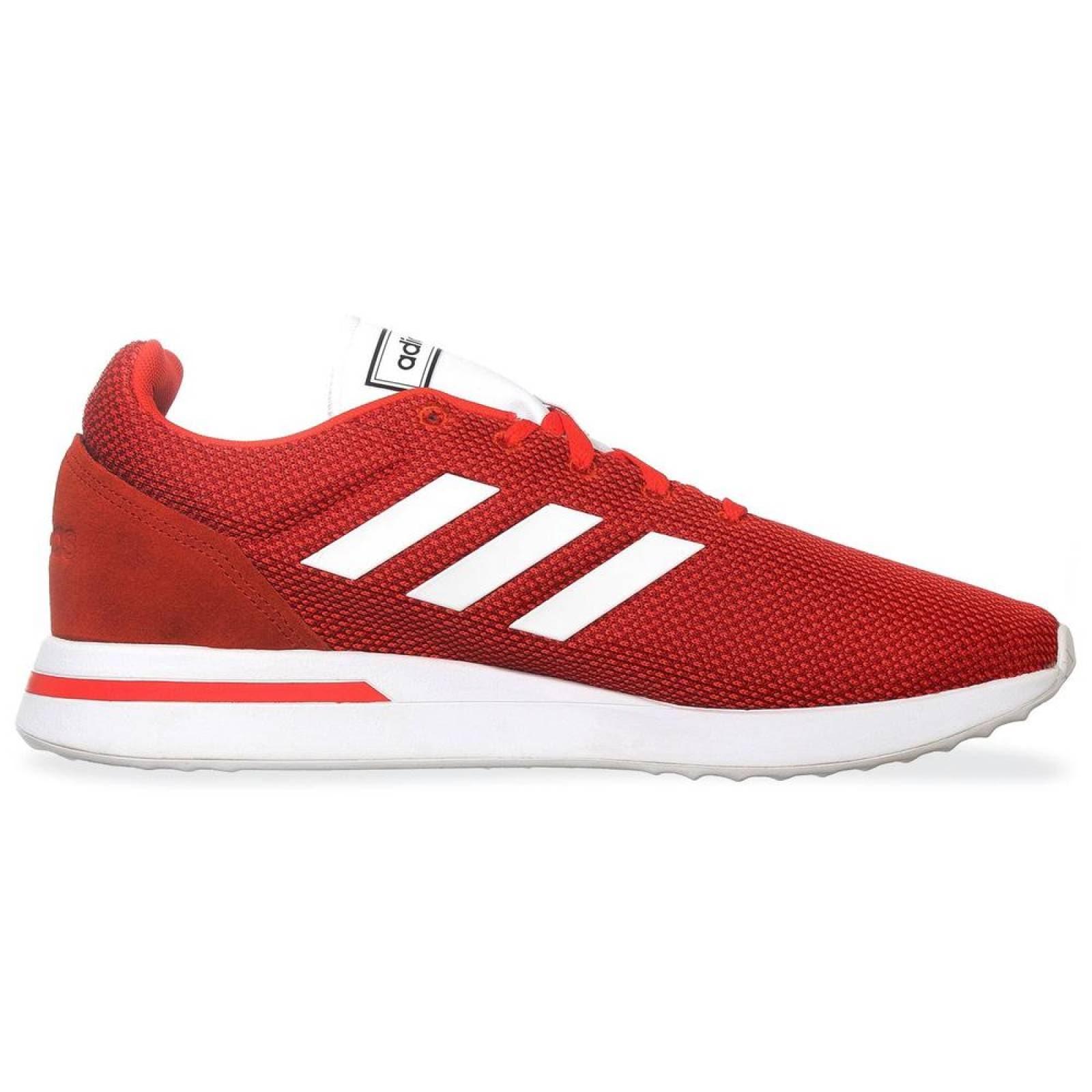 Tenis Adidas Run70s B96556 Rojo Hombre