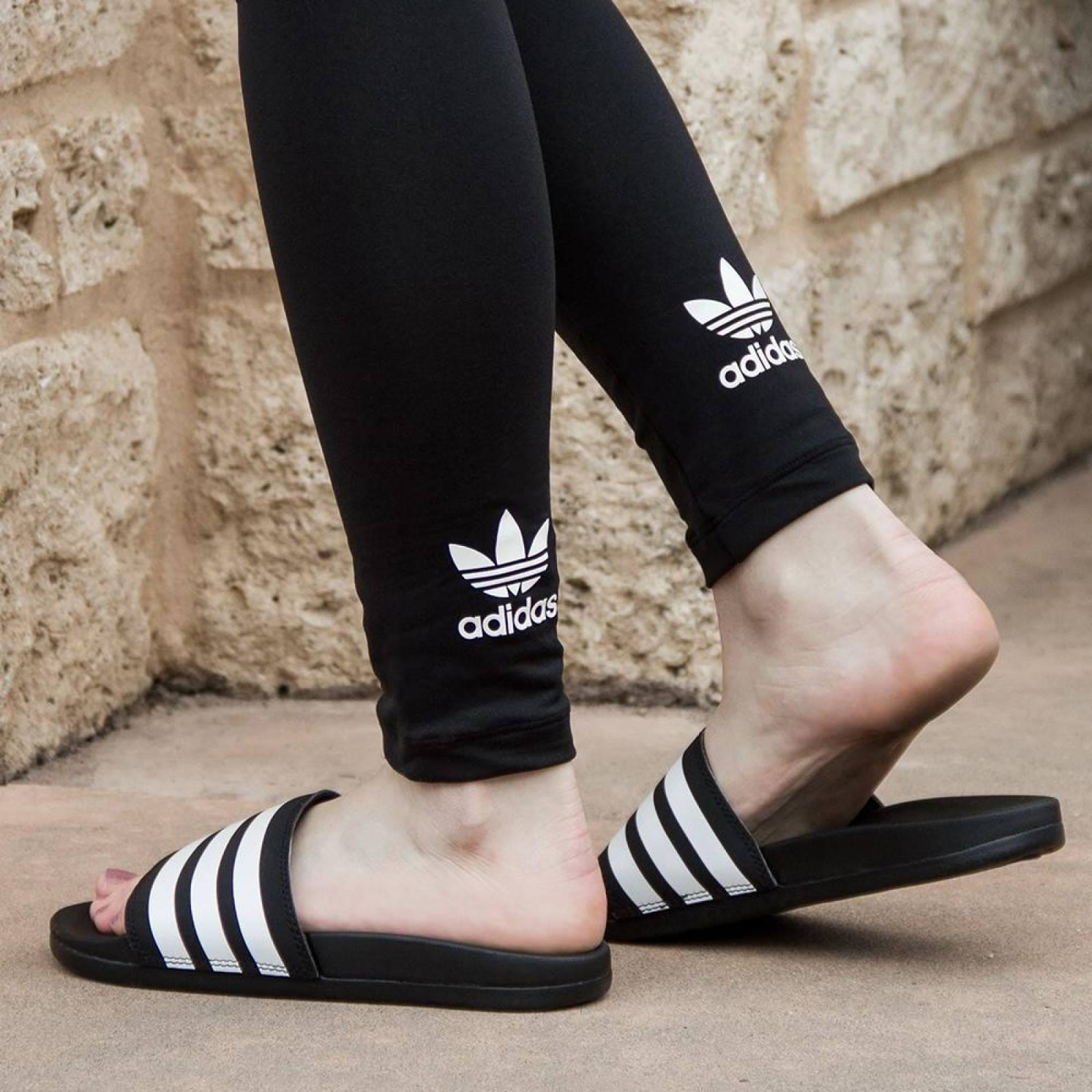Sandalias Adidas Adilette Comfort AP9971 Negro Hombre