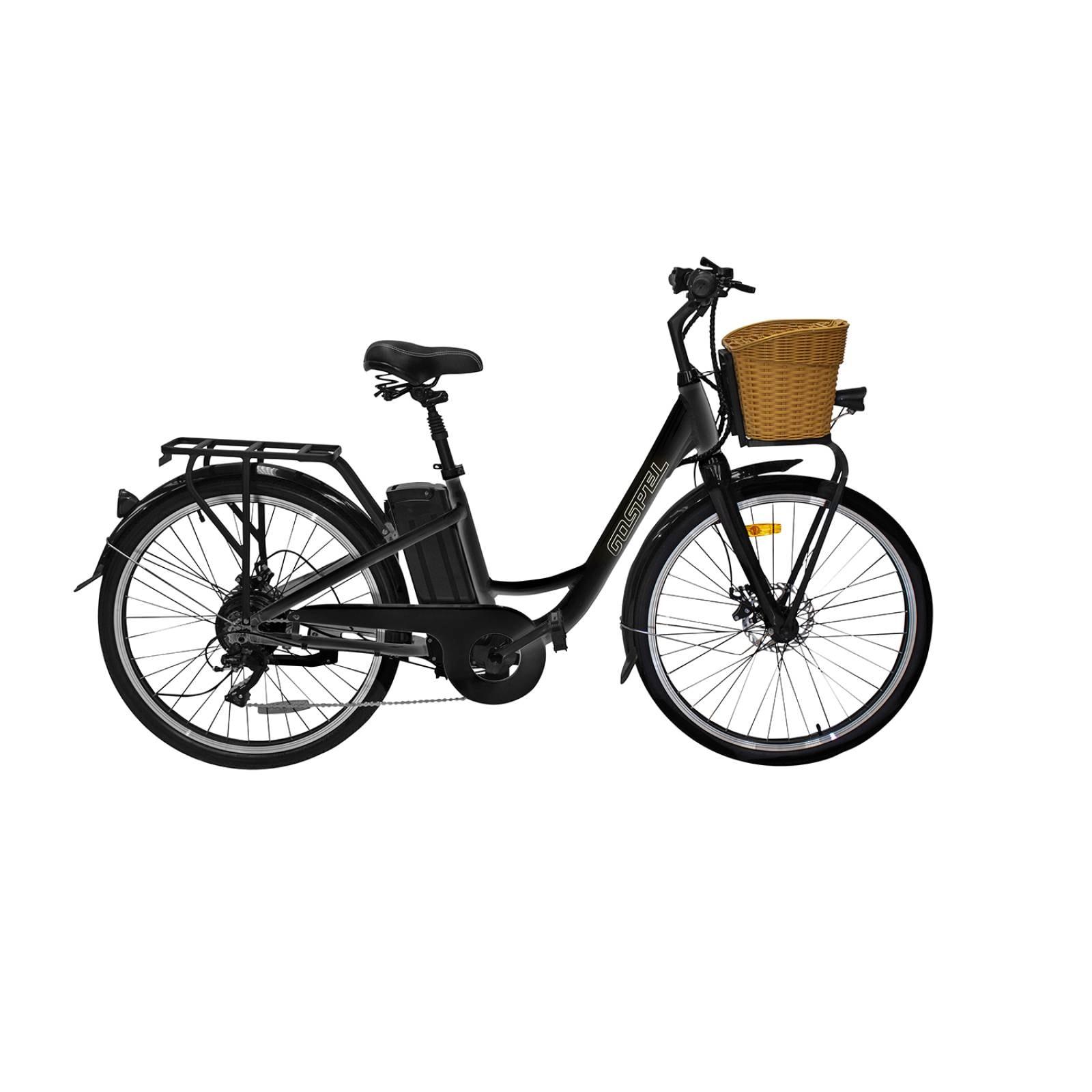 Bicicleta electrica Breeze Negra