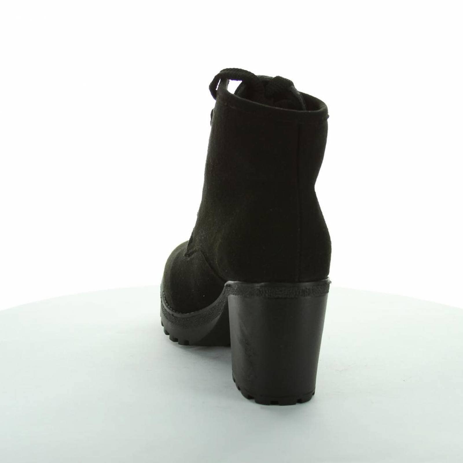 Botín Moda Mujer Salvaje Tentación Negro 09903100 Tipo Ante