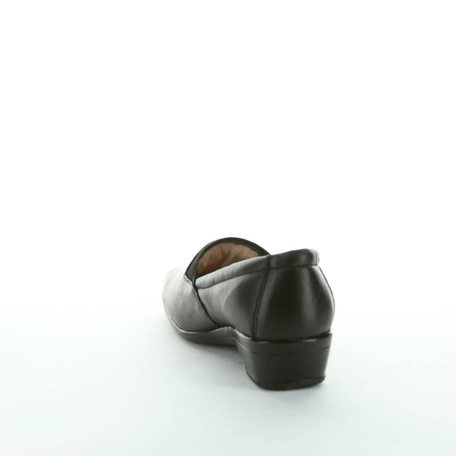 Zapato Casual Mujer Lory Negro 20203103 Piel