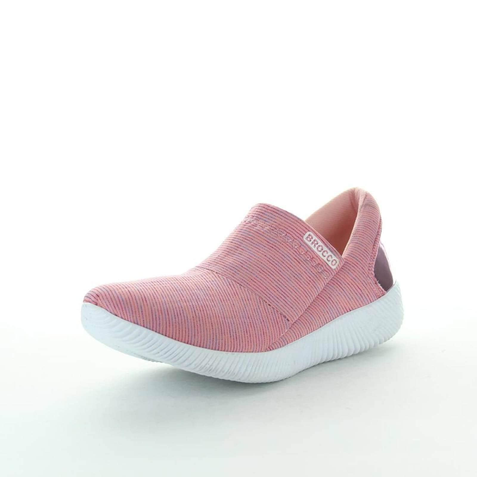 Tenis Brocco Mujer Rosa Textil 700