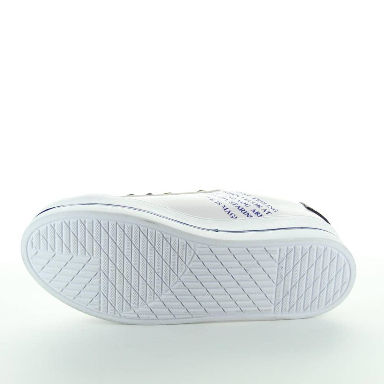 Tenis Suhey Mujer Blanco Tipo Napa 8802