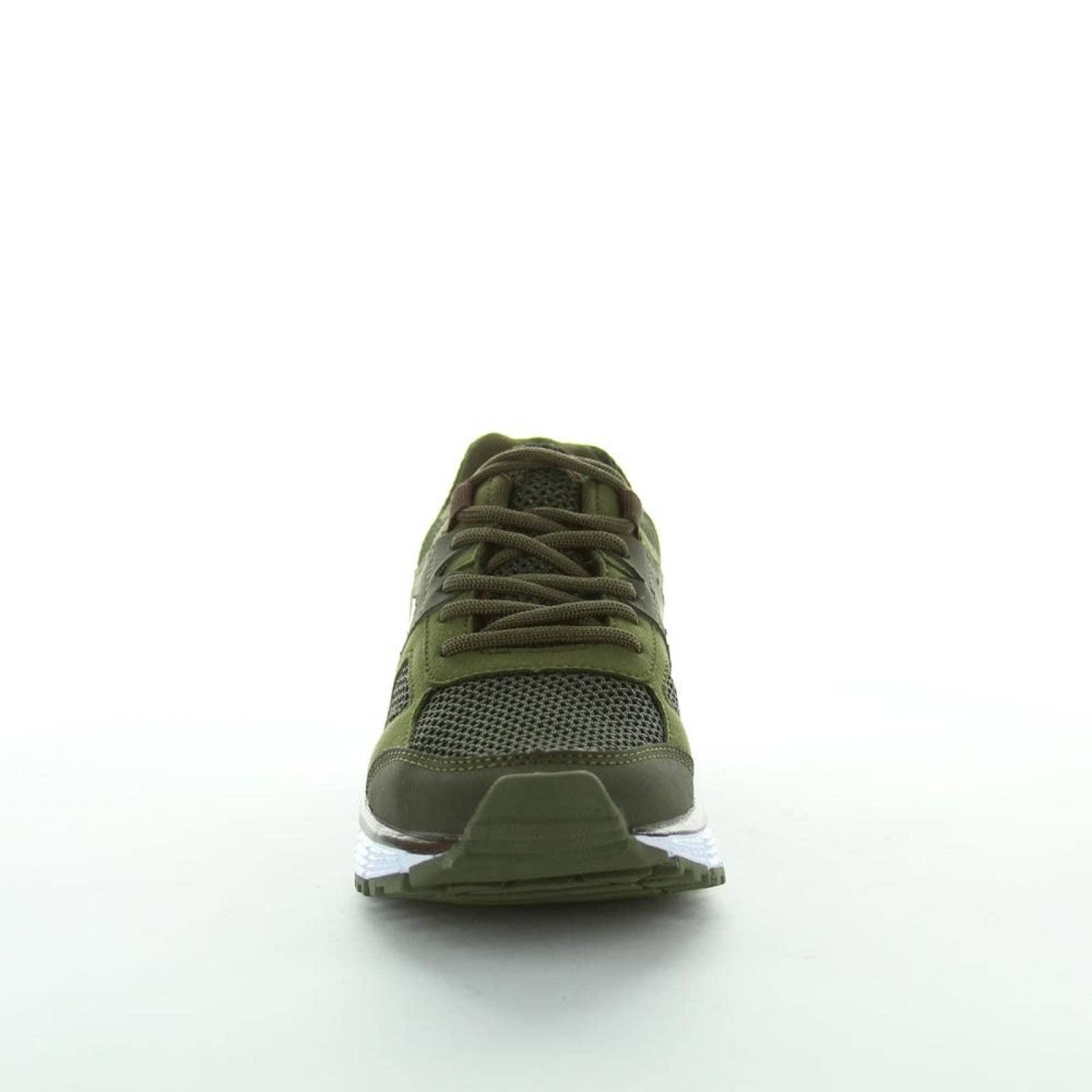 Tenis Brakers Niño Verde Textil 116
