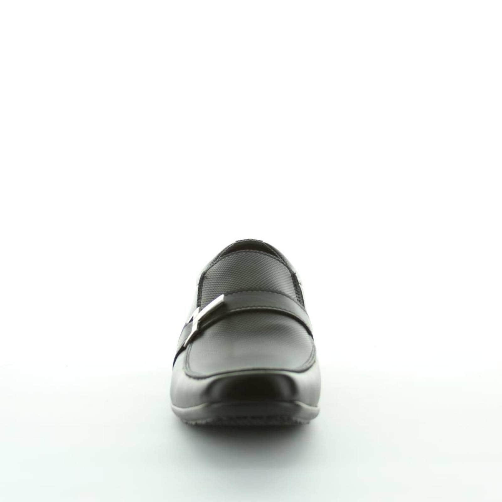 Zapato Cerrado Signos Hombre Negro Tipo Napa 6025 14
