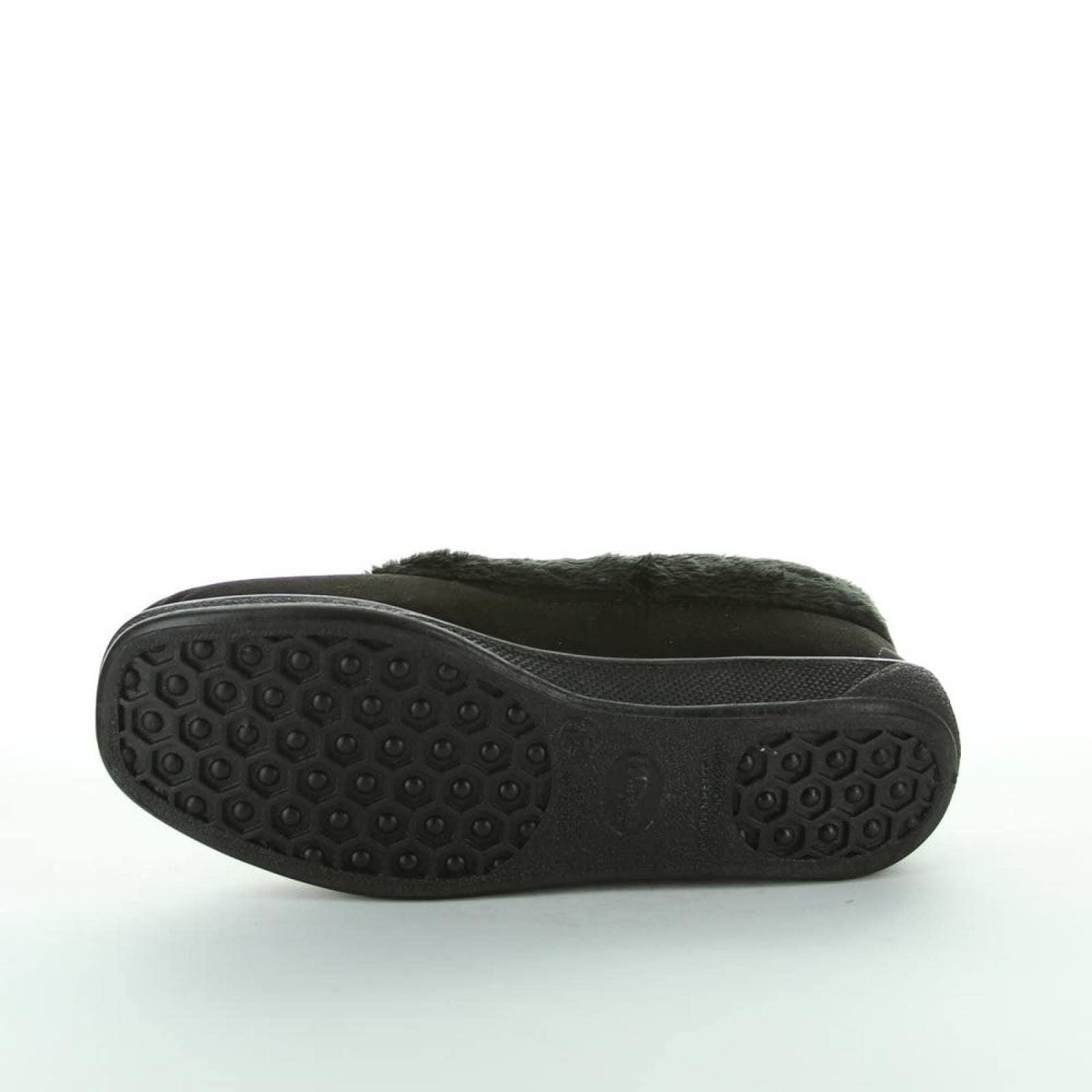 Zapato Cerrado Magic Shoes Mujer Negro Textil 708